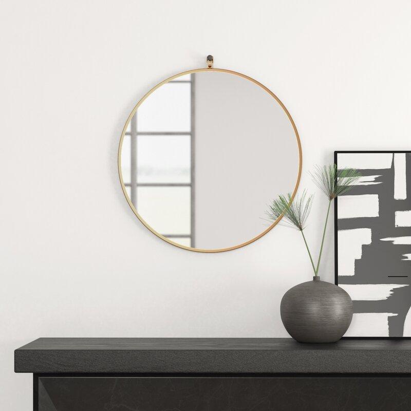 Popular Photo of Yedinak Modern Distressed Accent Mirrors