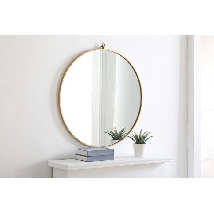 Yedinak Modern Distressed Accent Mirror Within Yedinak Modern Distressed Accent Mirrors (#16 of 20)