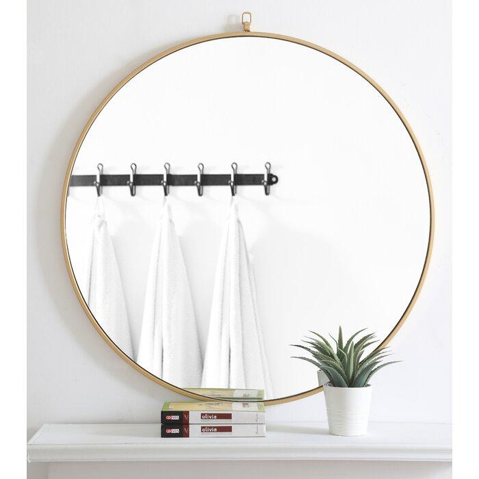 Yedinak Modern Distressed Accent Mirror Within Yedinak Modern Distressed Accent Mirrors (#17 of 20)
