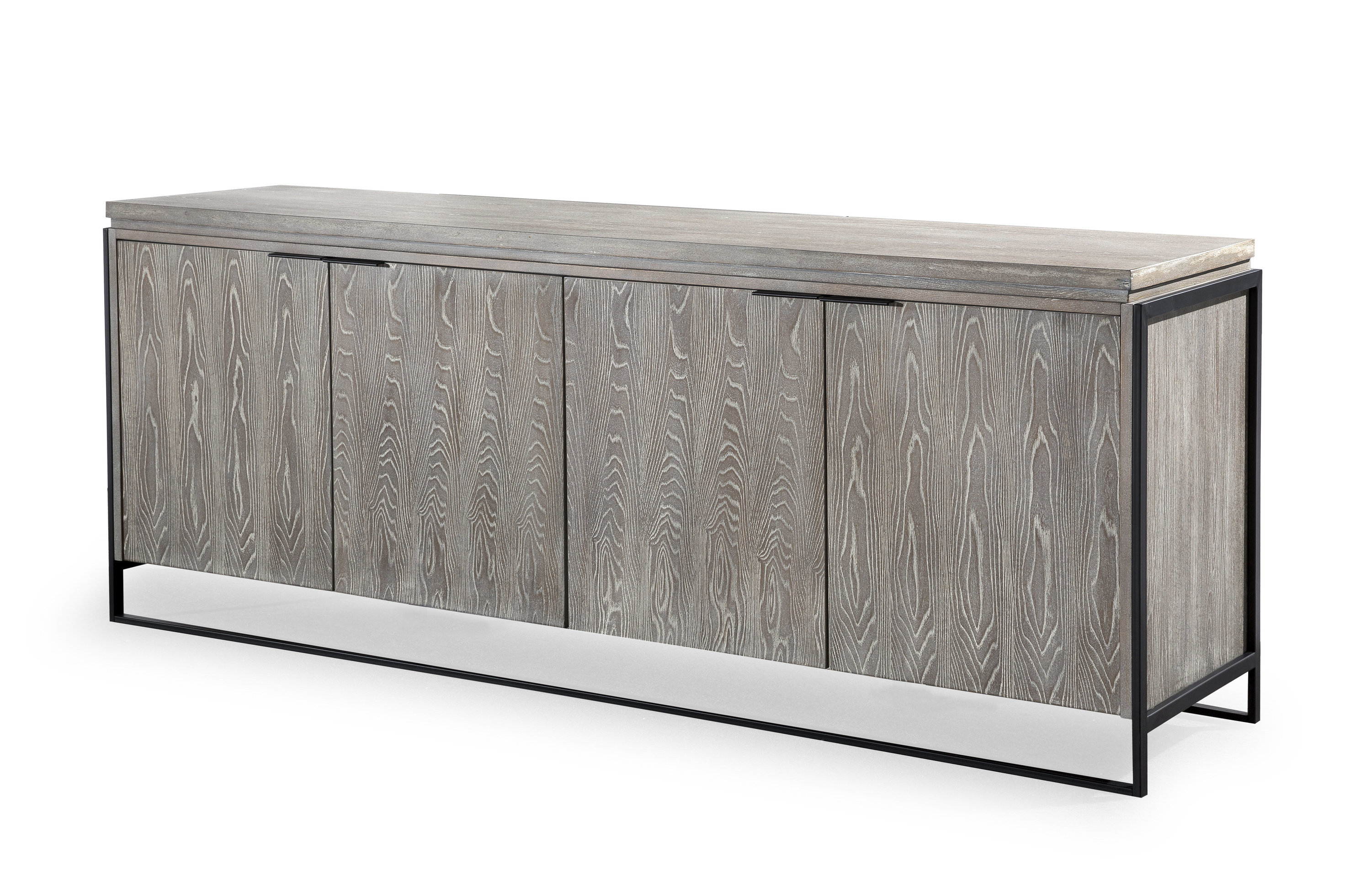 Inspiration about Zybert Sideboard Pertaining To Current Steinhatchee Reclaimed Pine 4 Door Sideboards (#8 of 20)