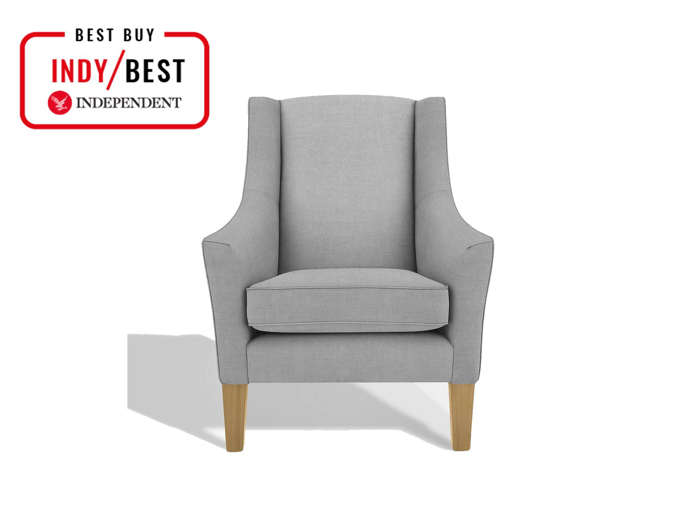 10 Best Armchairs | The Independent With Regard To Modern Blue Fabric Rocking Arm Chairs (View 11 of 20)