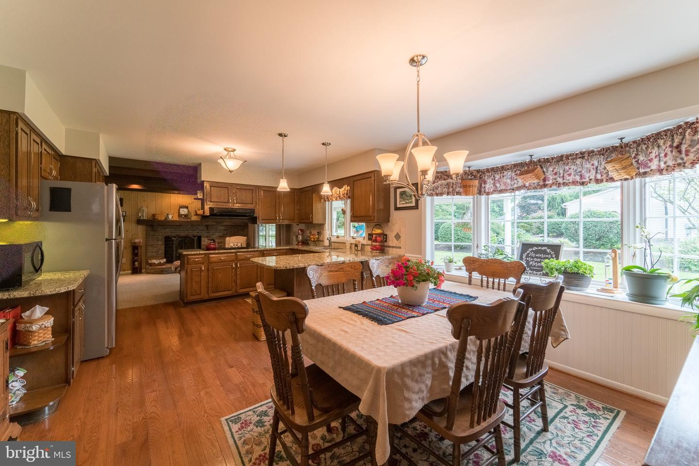 108 Flint Dr Harleysville Pa – Kelly Group Realtors Within Newcombe Warm Brown Windsor Rocking Chairs (#1 of 20)