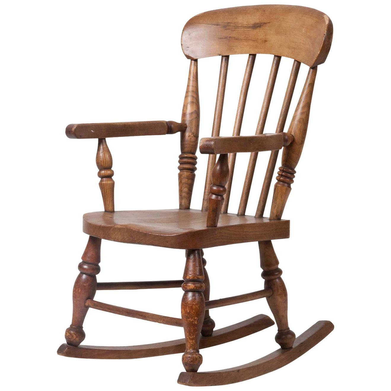 Inspiration about 19Th Century Rocking Chairs – 93 For Sale At 1Stdibs In Oak Carved Rocking Chairs Chairs (#13 of 20)