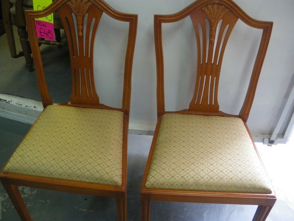 Inspiration about 2 Traditional Dining Chairs | In Hyson Green, Nottinghamshire | Gumtree With Regard To Radford Traditional Rocking Chairs (#13 of 20)