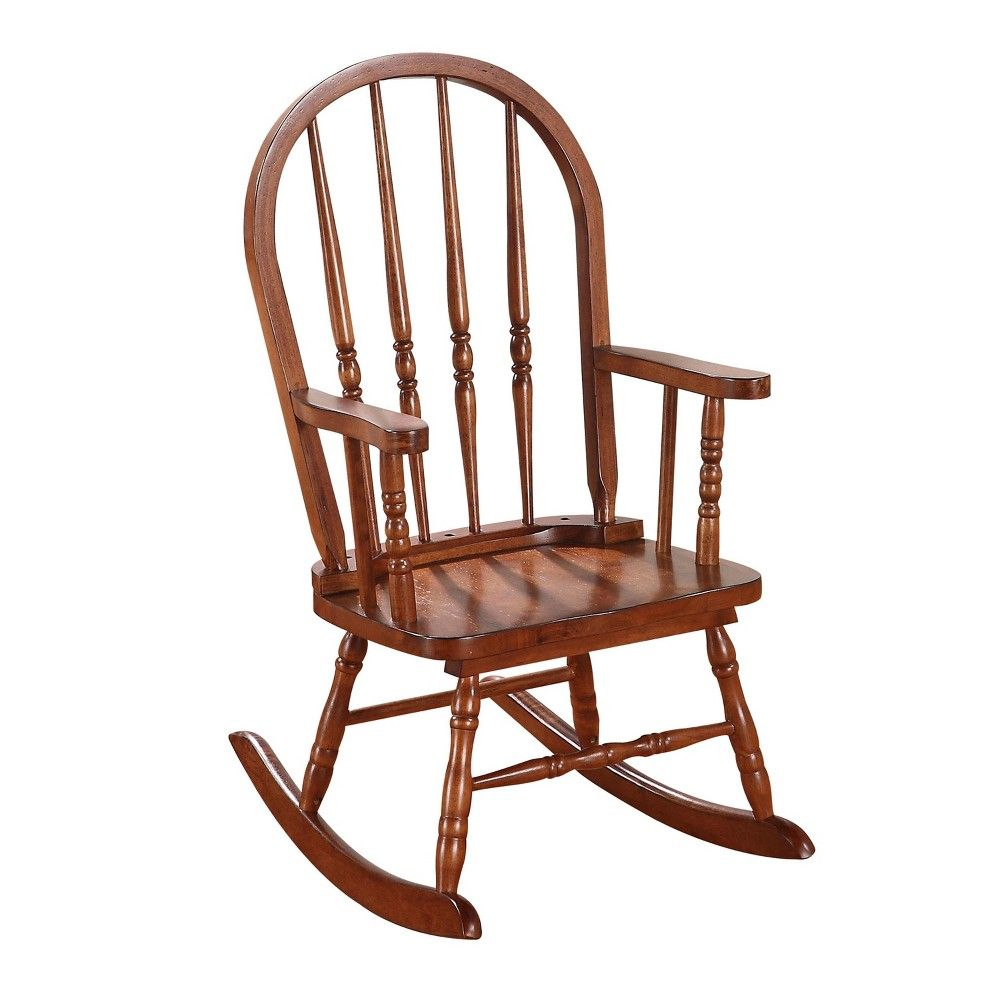 Acme Furniture Kids Rocking Chair Tobacco | Products With Tobacco Rocking Chairs (#1 of 20)
