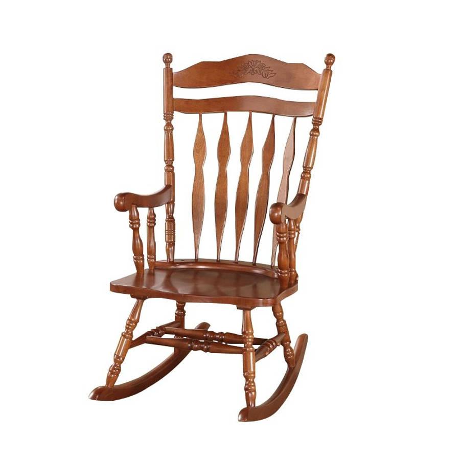 Acme Furniture Kloris Dark Walnut Rocking Chair With Walnut Wood Rocking Chairs (View 20 of 20)