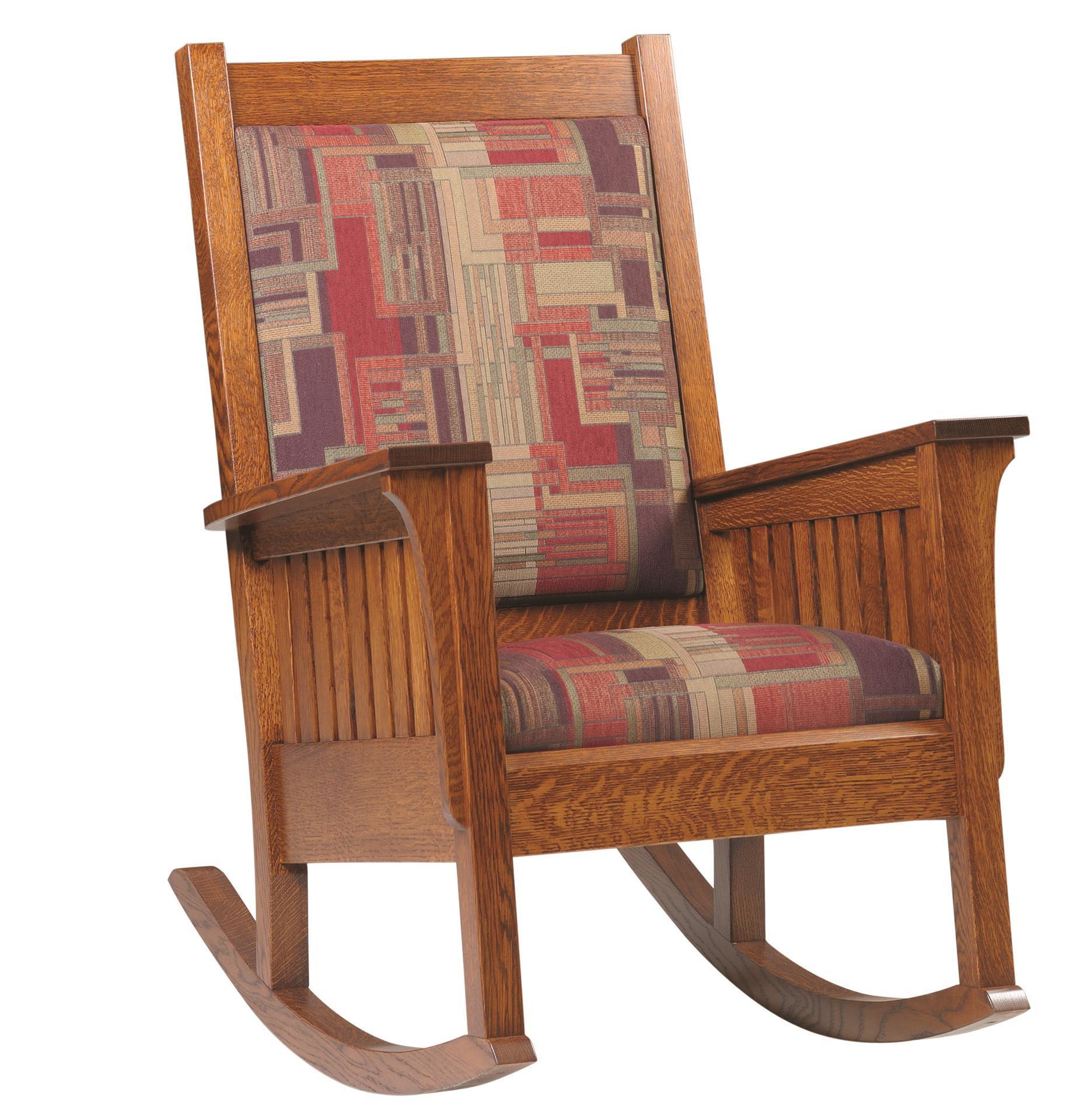 Amish Relax Mission Style Rocker With Regard To Luxury Mission Style Rocking Chairs (#5 of 20)