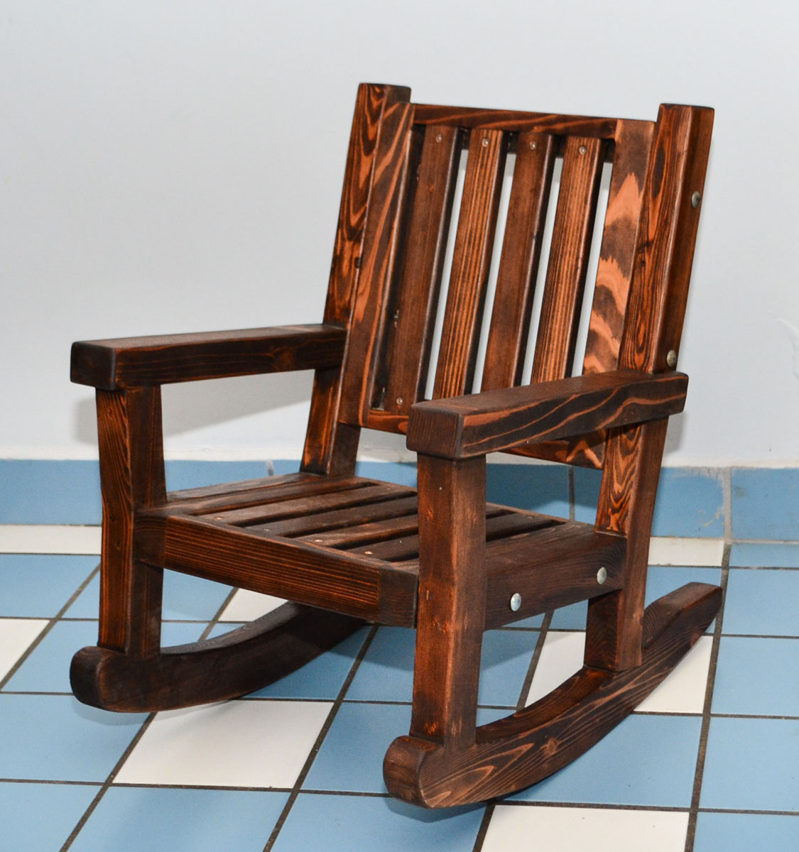 Antique Kids Rocking Chair : New Kids Furniture – How To For Brown Wood Youth Rocking Chairs (#3 of 20)