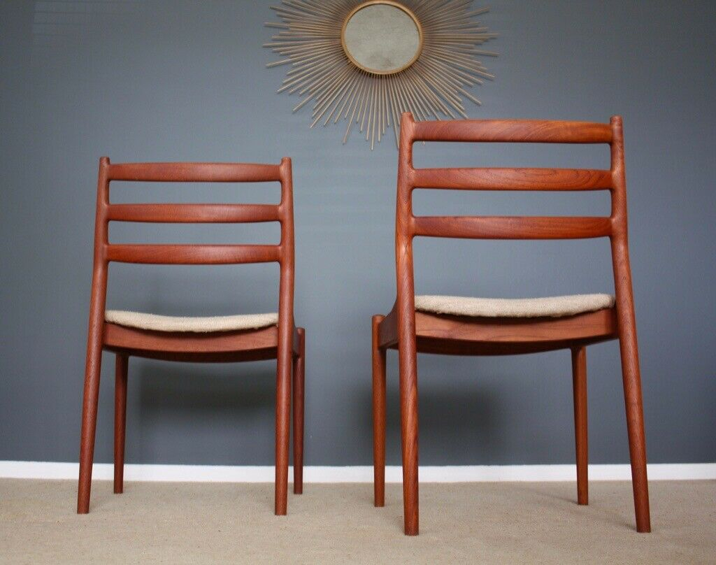 Arne Vodder Danish Mid Century Chairs Retro 60S | In Dover, Kent | Gumtree Within Dover Bentwood Rocking Chairs (#4 of 20)