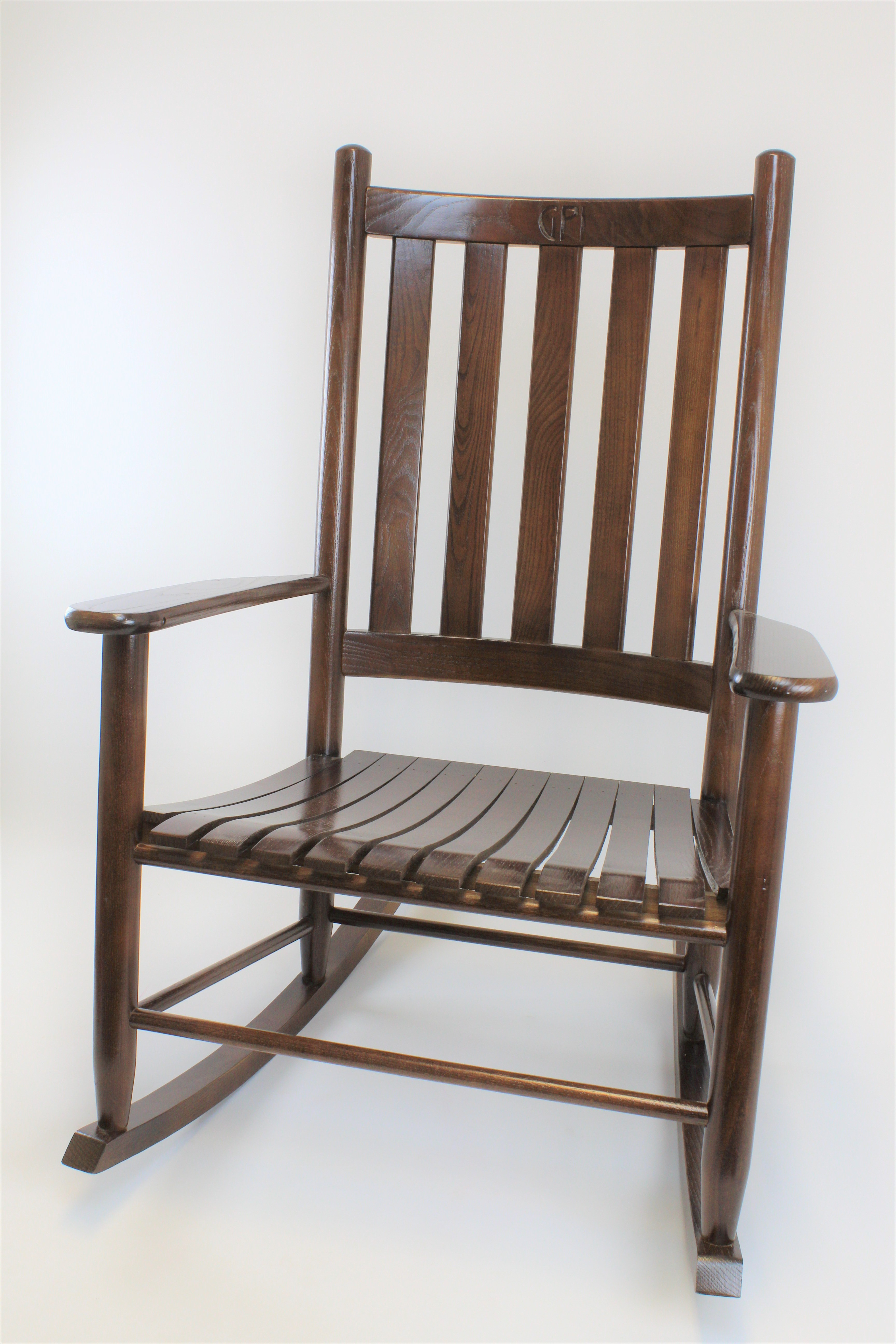 Asheville Wood Grand Rocking Chair No (View 8 of 20)