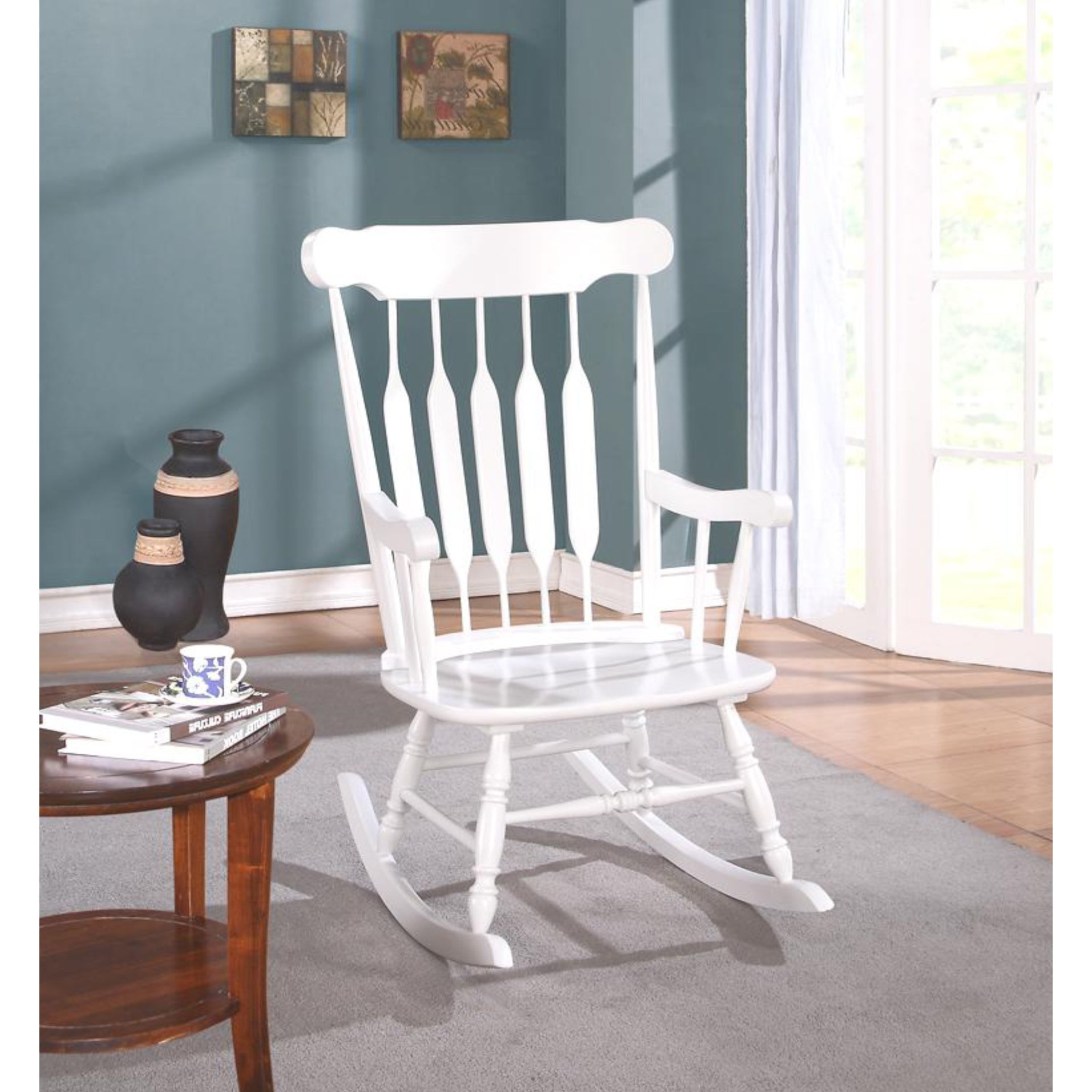 Avalon Rocking Chair Regarding Madrone Windsor Country Style Rocking Chairs (#2 of 20)