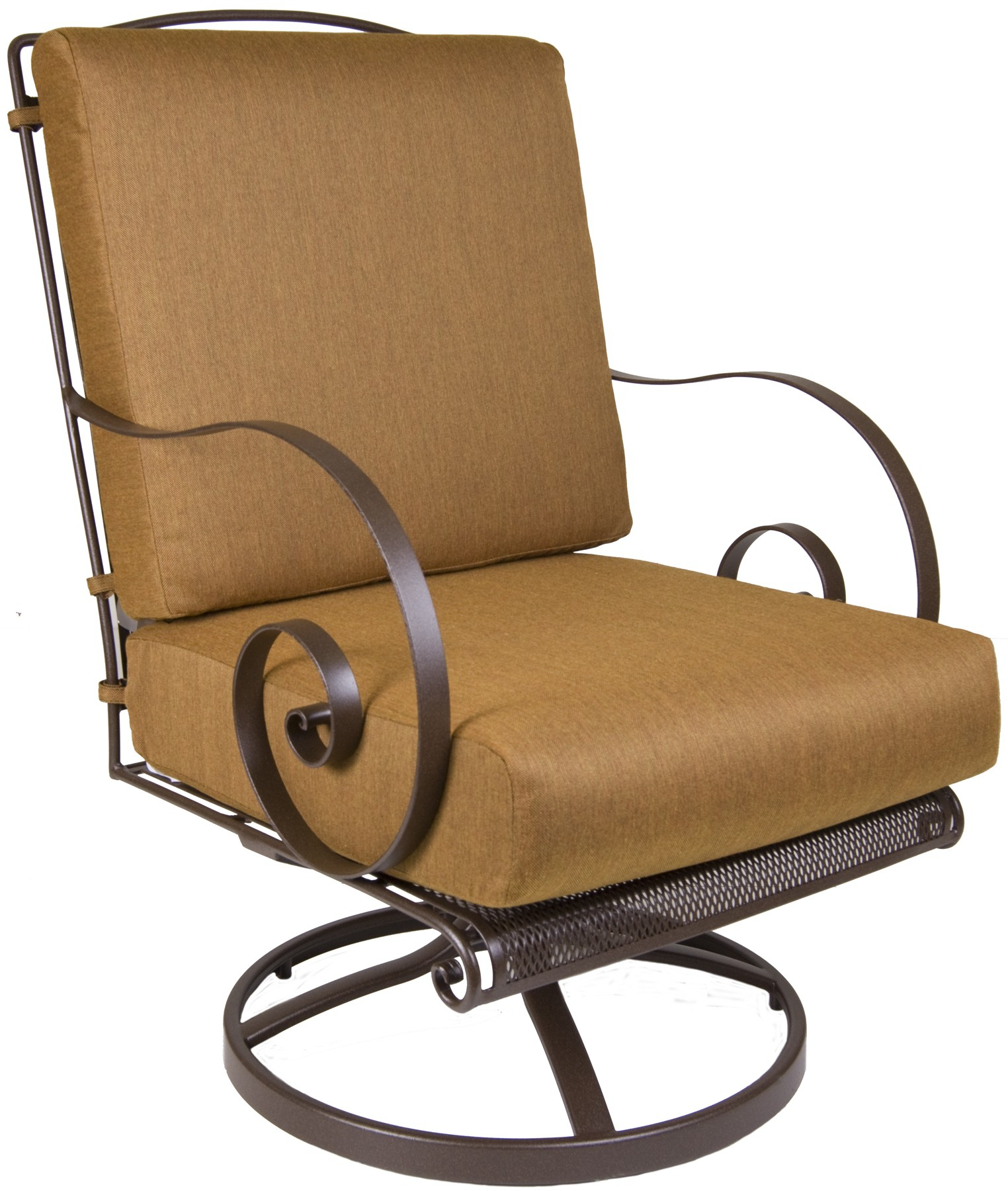 Avalon Swivel Rocker Lounge Chair Throughout Orange Rocking Chairs Lounge Chairs (View 3 of 20)