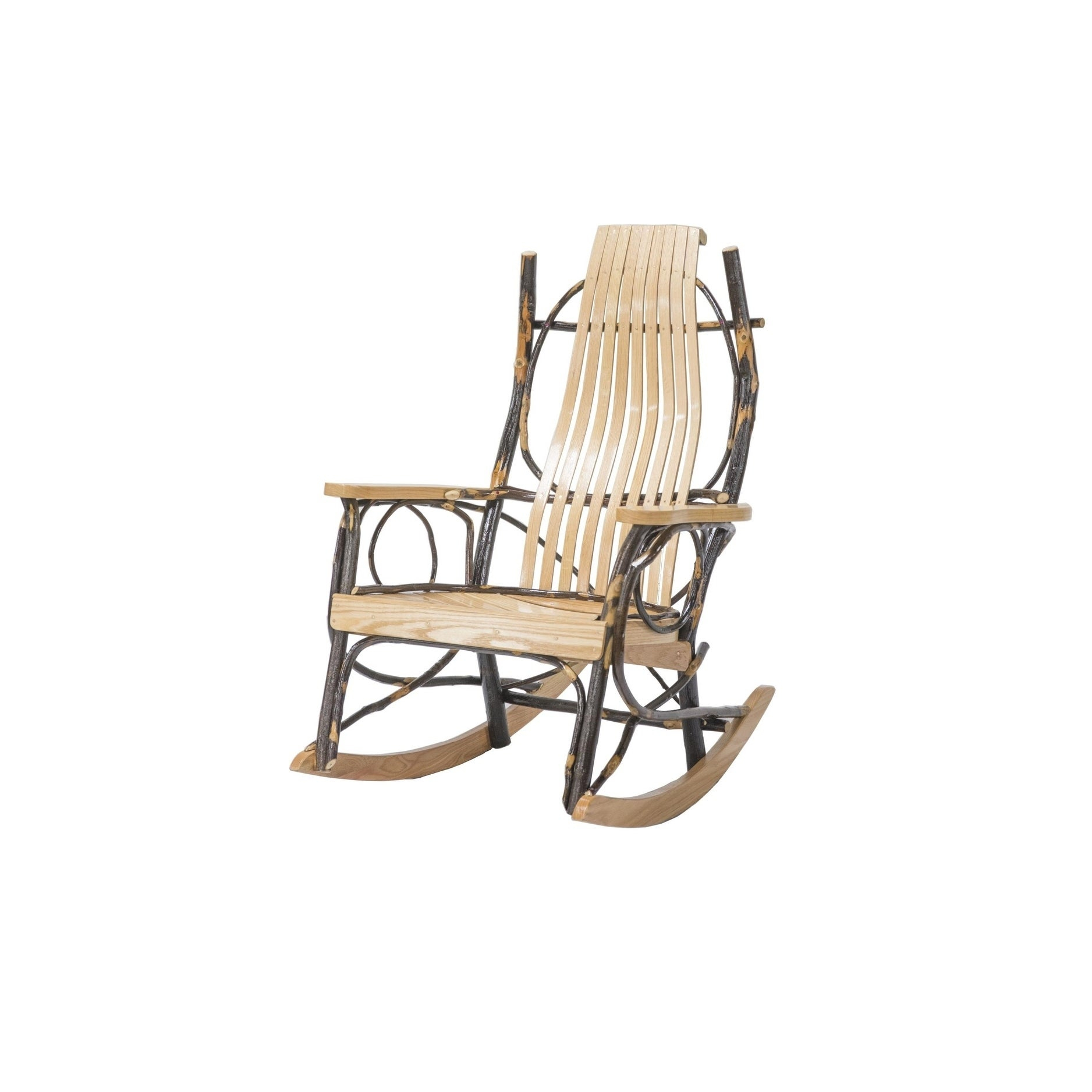 Barrah Natural Rocker Chair Within Elegant Tobacco Brown Wooden Rocking Chairs (#3 of 20)