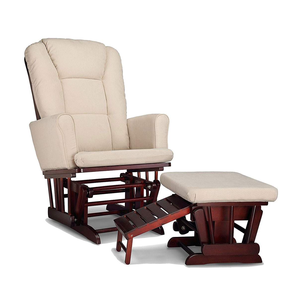 Best Rocking Chair • Reviews & Buying Guide (september 2019 Throughout Beige Fabric And Cherry Wood Rocking Chairs (View 12 of 20)