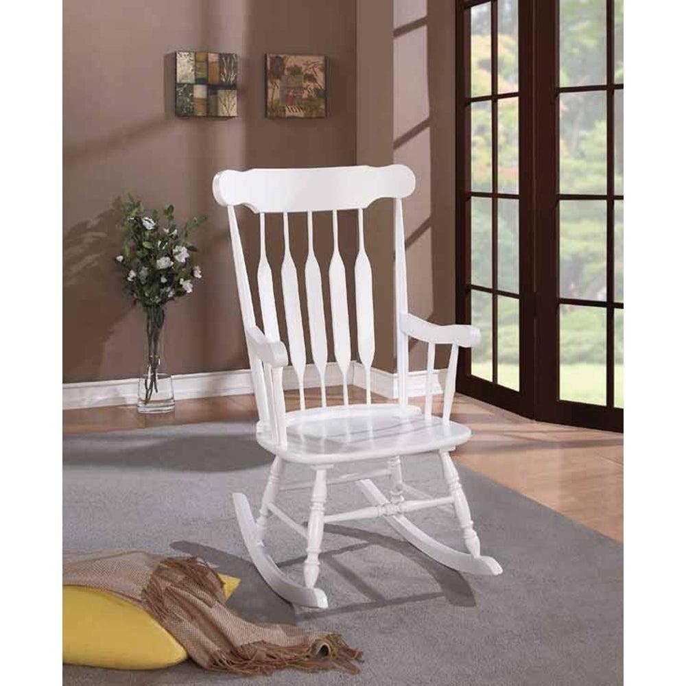Popular Photo of Brady Traditional White Rocking Chairs