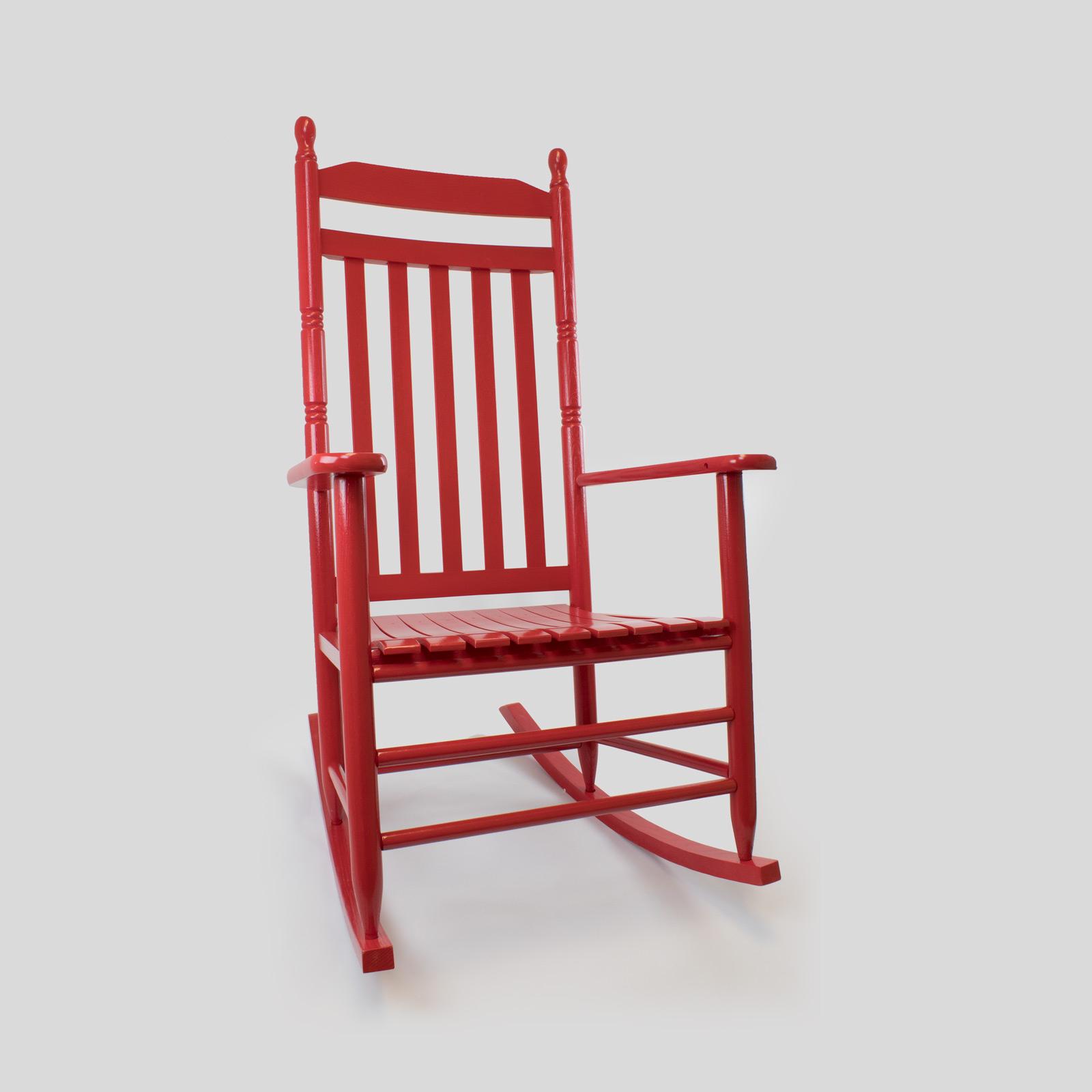 Calabash Wood Rocking Chair No (#6 of 20)