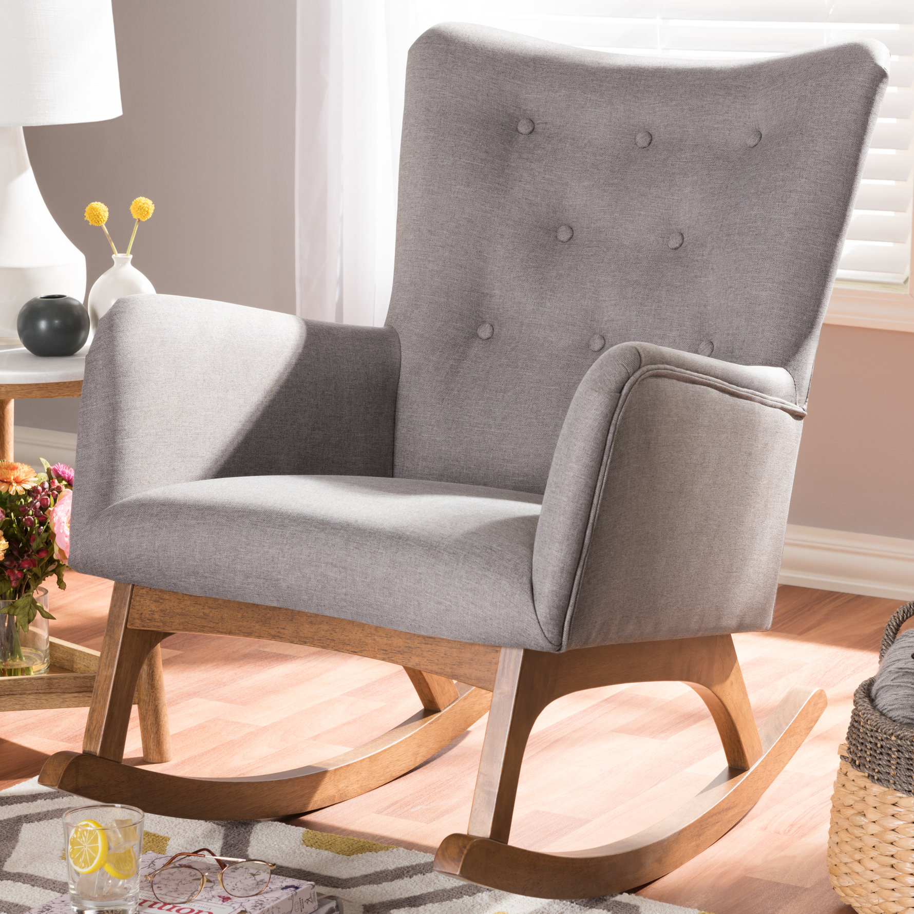 Centreville Rocking Chair With Regard To Padded Rocking Chairs (#6 of 20)