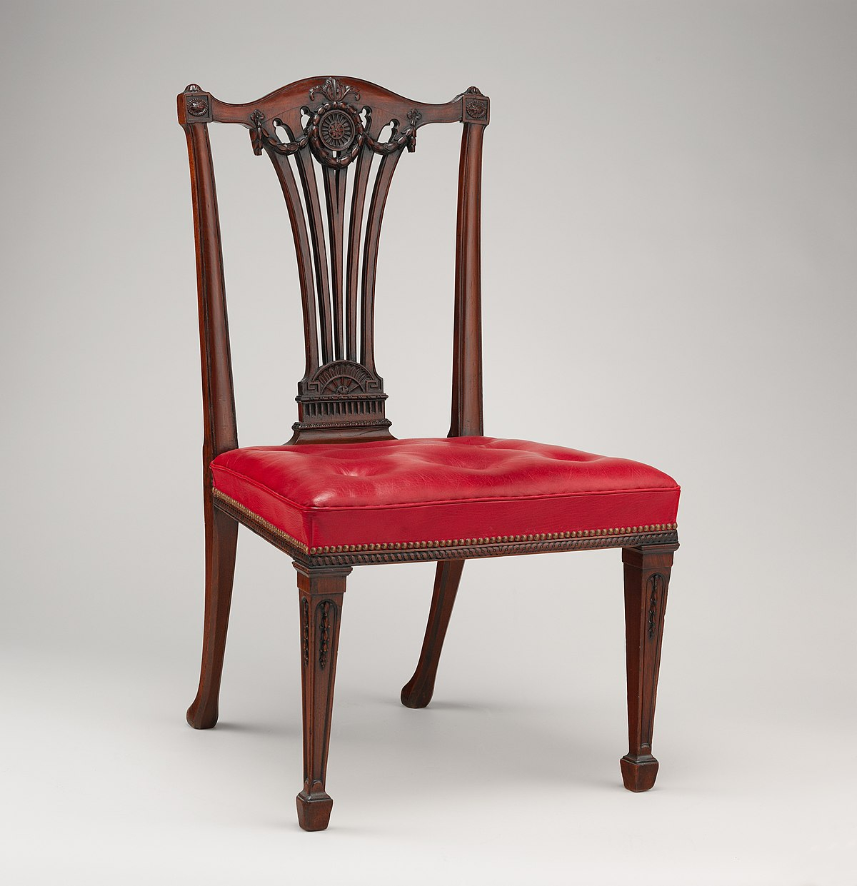 Chair – Wikipedia Throughout Plastic Arm Chairs With Rocking Legs (View 16 of 20)
