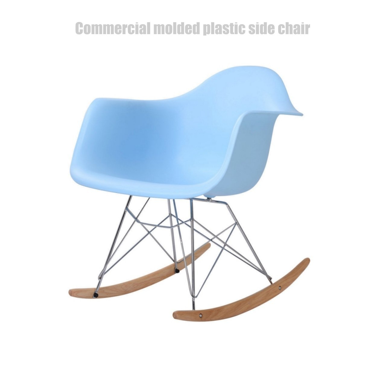 Popular Photo of Plastic Arm Chairs With Rocking Legs