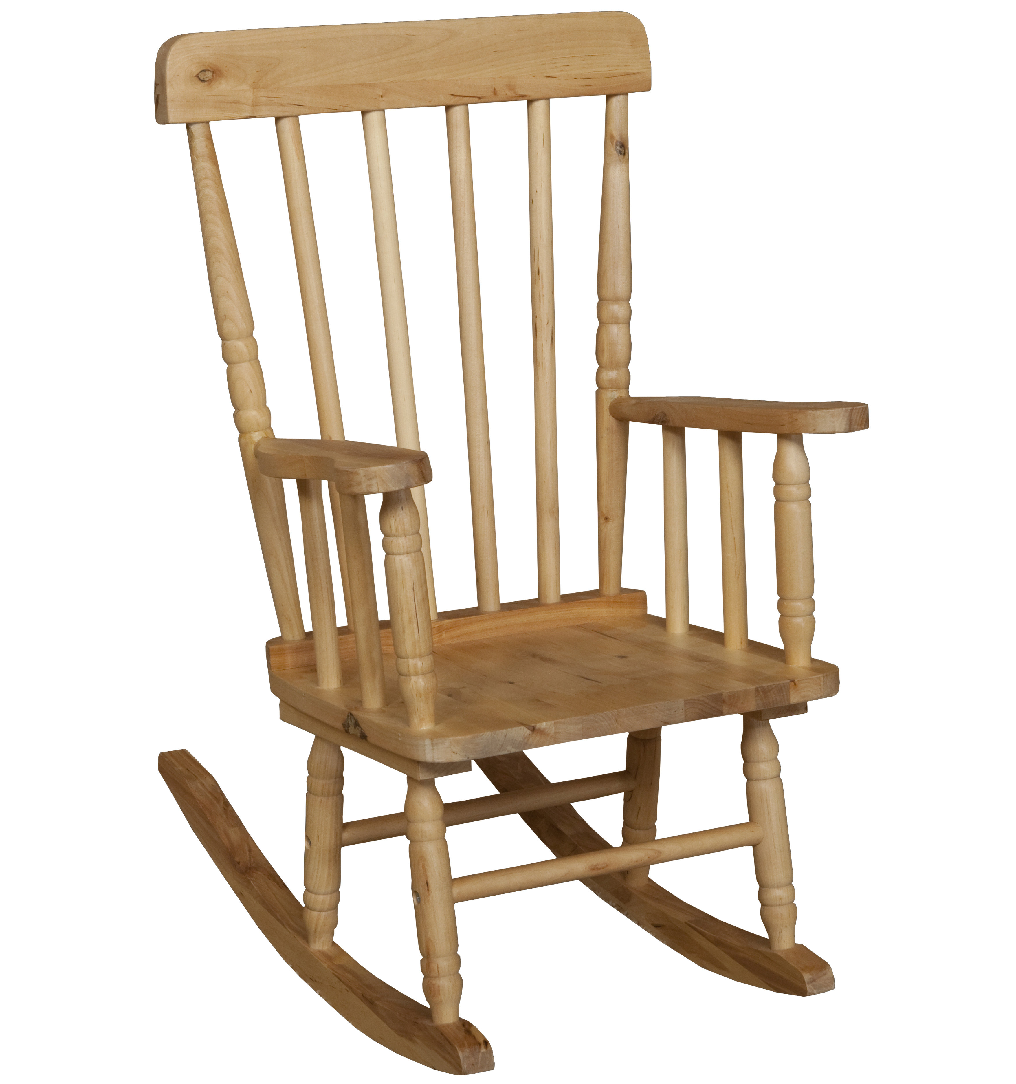 Children's Rocking Chair Throughout Brown Wood Youth Rocking Chairs (#6 of 20)