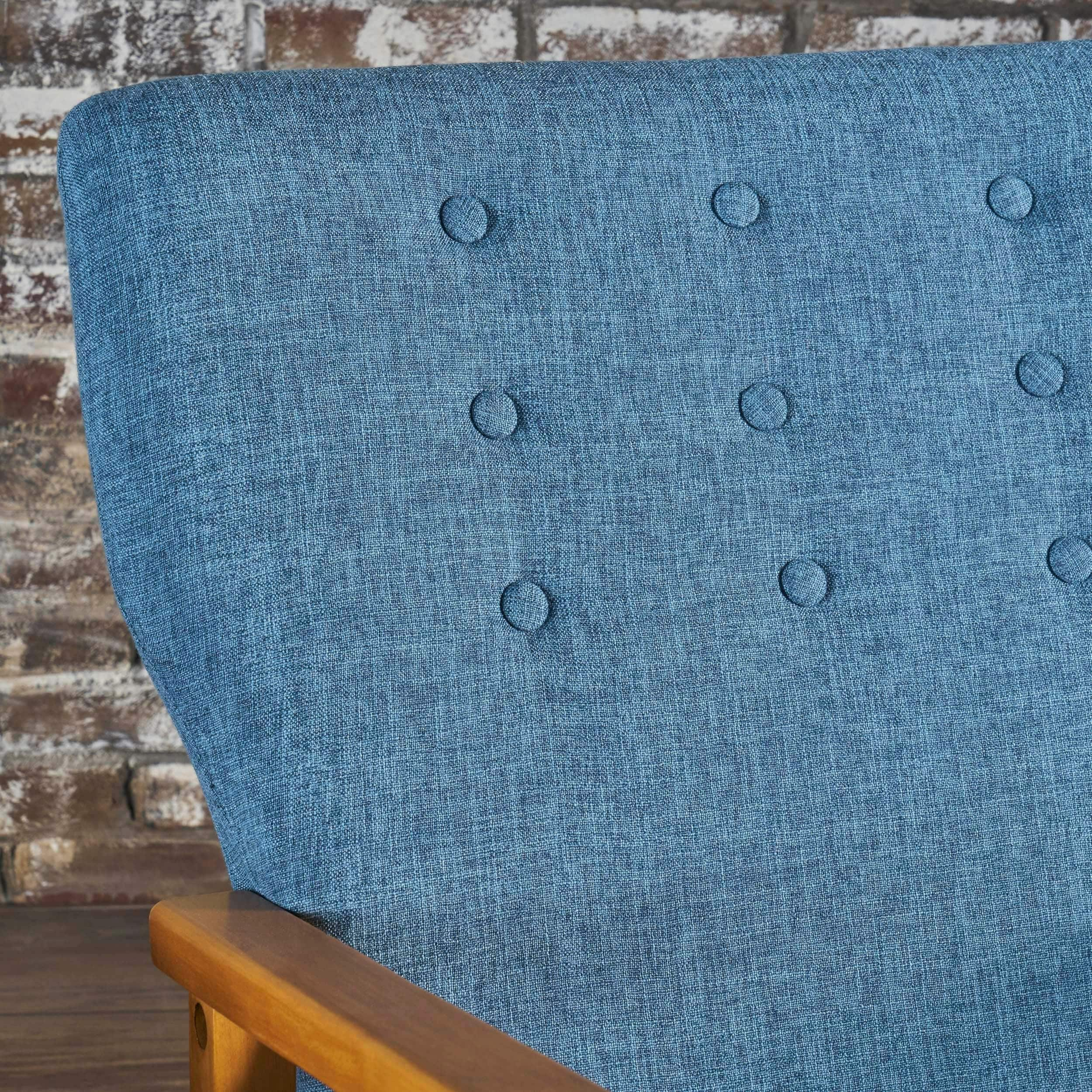 Christopher Knight Home Harvey Mid Century Modern Fabric Rocking Chair By For Harvey Mid Century Modern Fabric Rocking Chairs (View 8 of 20)