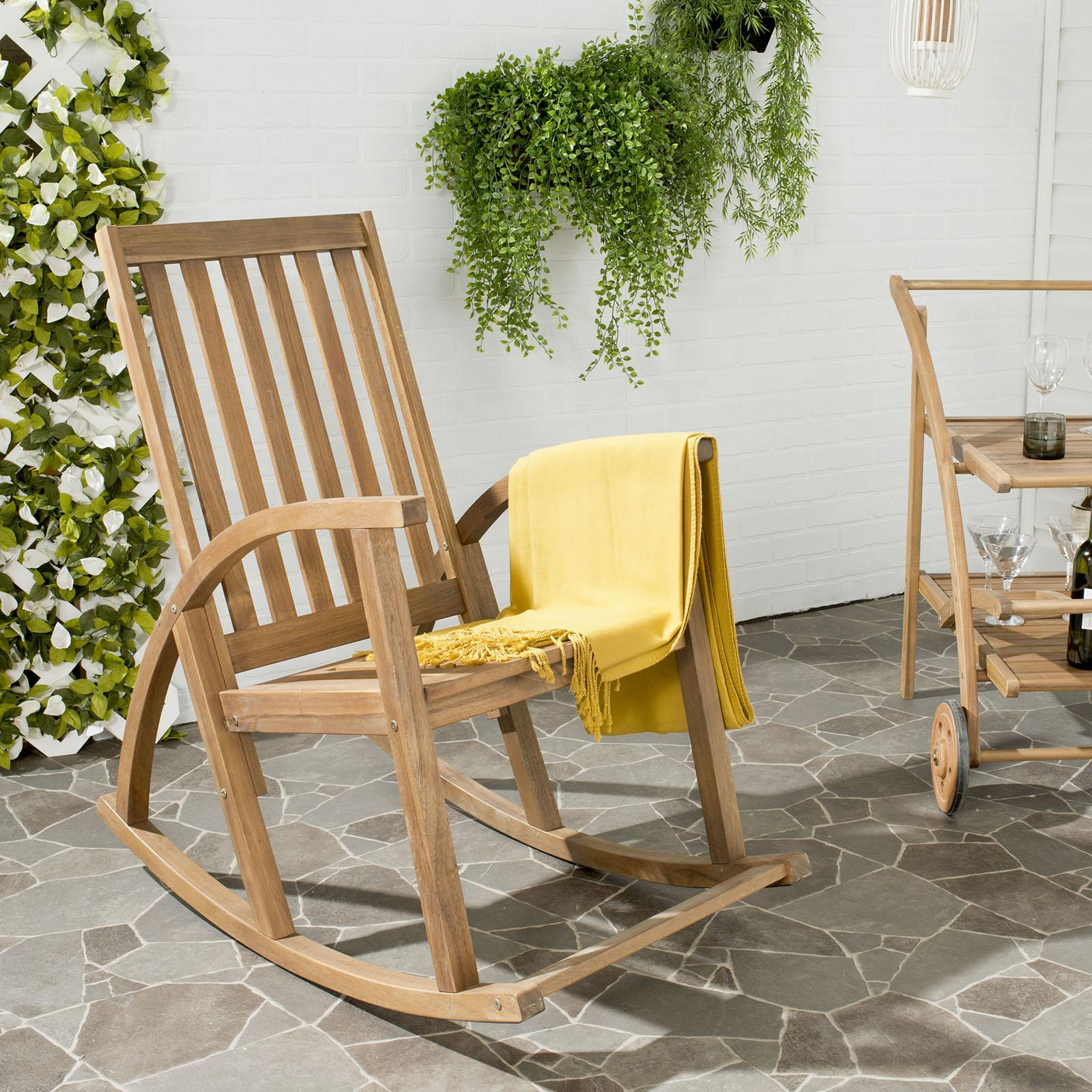 Clayton Rocking Chairsafavieh | Wedding Planning, Registry & Gifts With Dover Bentwood Rocking Chairs (#8 of 20)