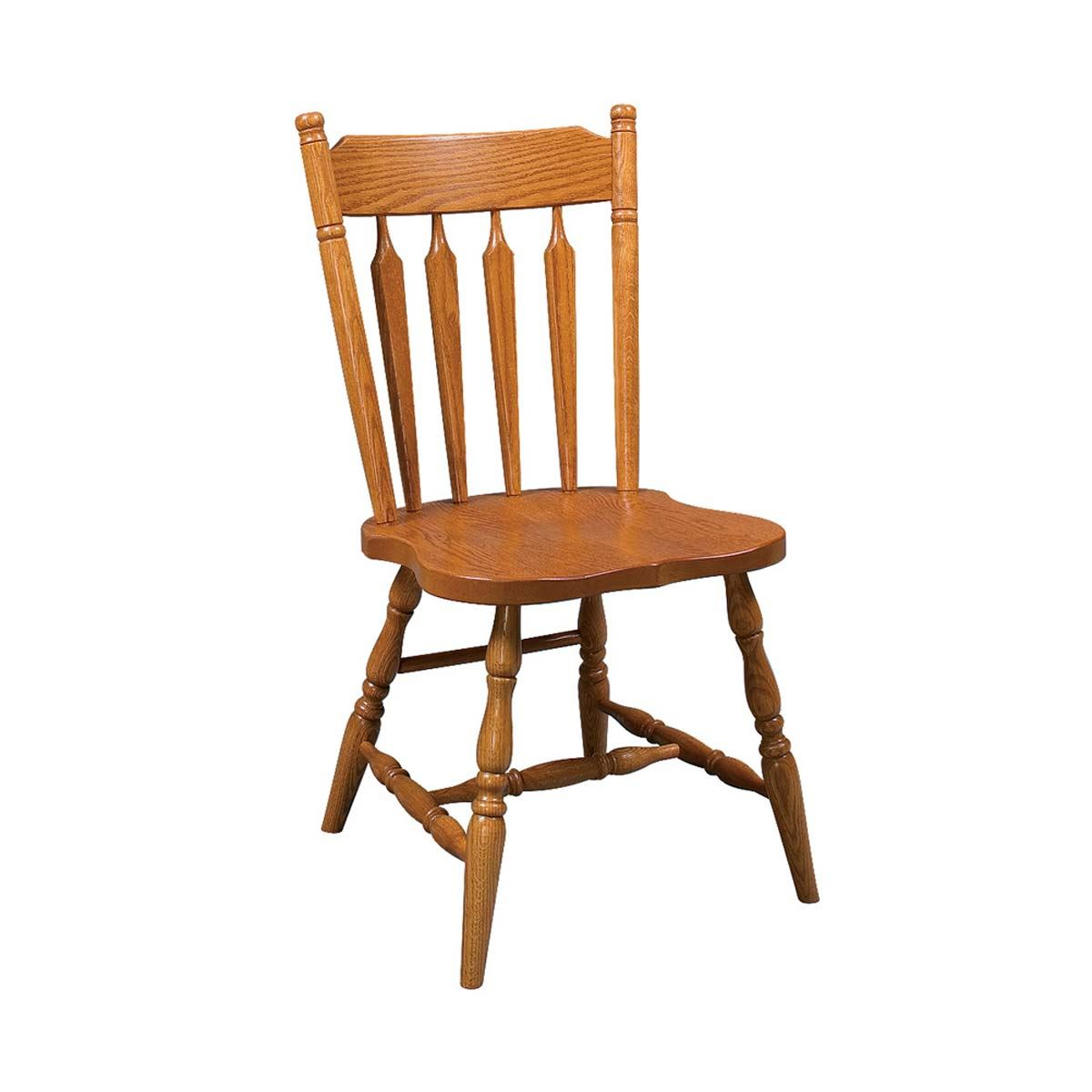 Colonial Arrowback Side Chair | King Dinettes With Colonial Cherry Finish Rocking Chairs (#4 of 20)