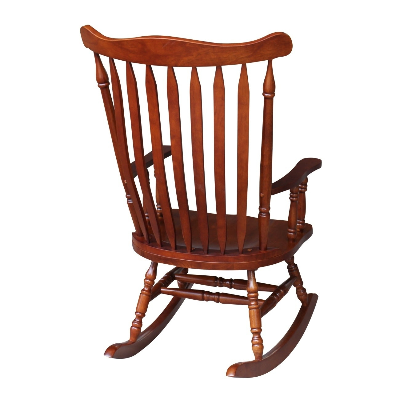 "Colonial Cherry Finish Rocking Chair – 28""w X 36""d X  (#5 of 20)"