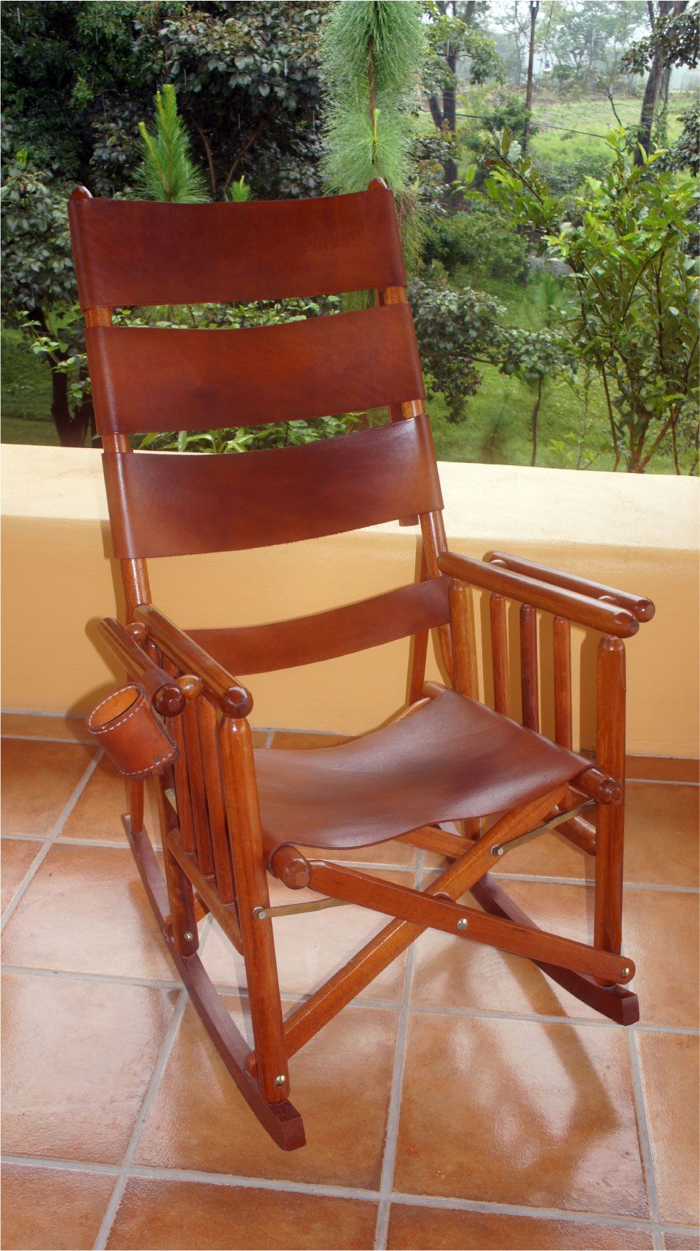 Costa Rican Rocking Chair – High Back I So Regret Not Buying With Regard To Natural Brown Wood Folding Rocking Chairs (#10 of 20)