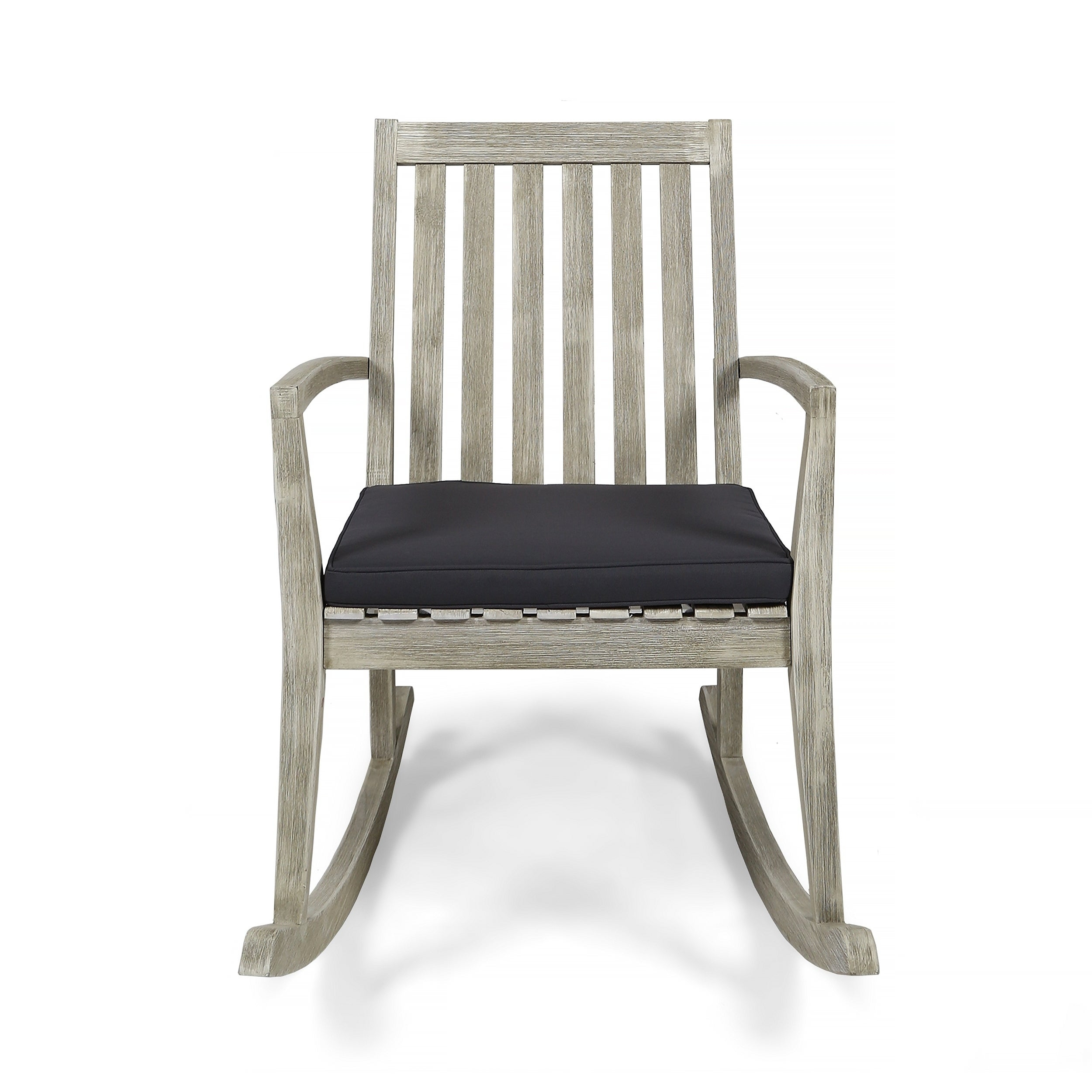 Inspiration about Daneen Traditional Indoor Acacia Wood Rocking Chair With Cushions Christopher Knight Home Regarding Traditional Indoor Acacia Wood Rocking Chairs With Cushions (#2 of 20)