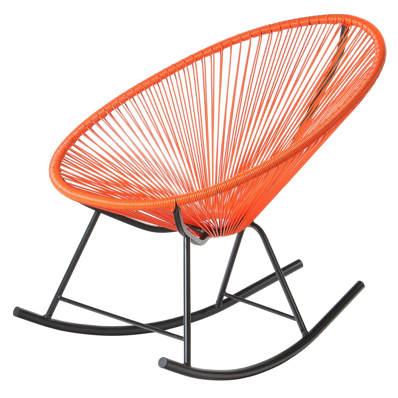 Inspiration about Design Tree Home Acapulco Lounge Chair – Orange | Fun Finds Throughout Orange Rocking Chairs Lounge Chairs (#12 of 20)