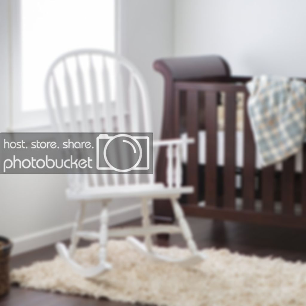 Details About Indoor Wooden Rocking Chair White Baby Nursery Living Room  Rocker Seat Furniture Pertaining To Wooden Baby Nursery Rocking Chairs (#3 of 20)