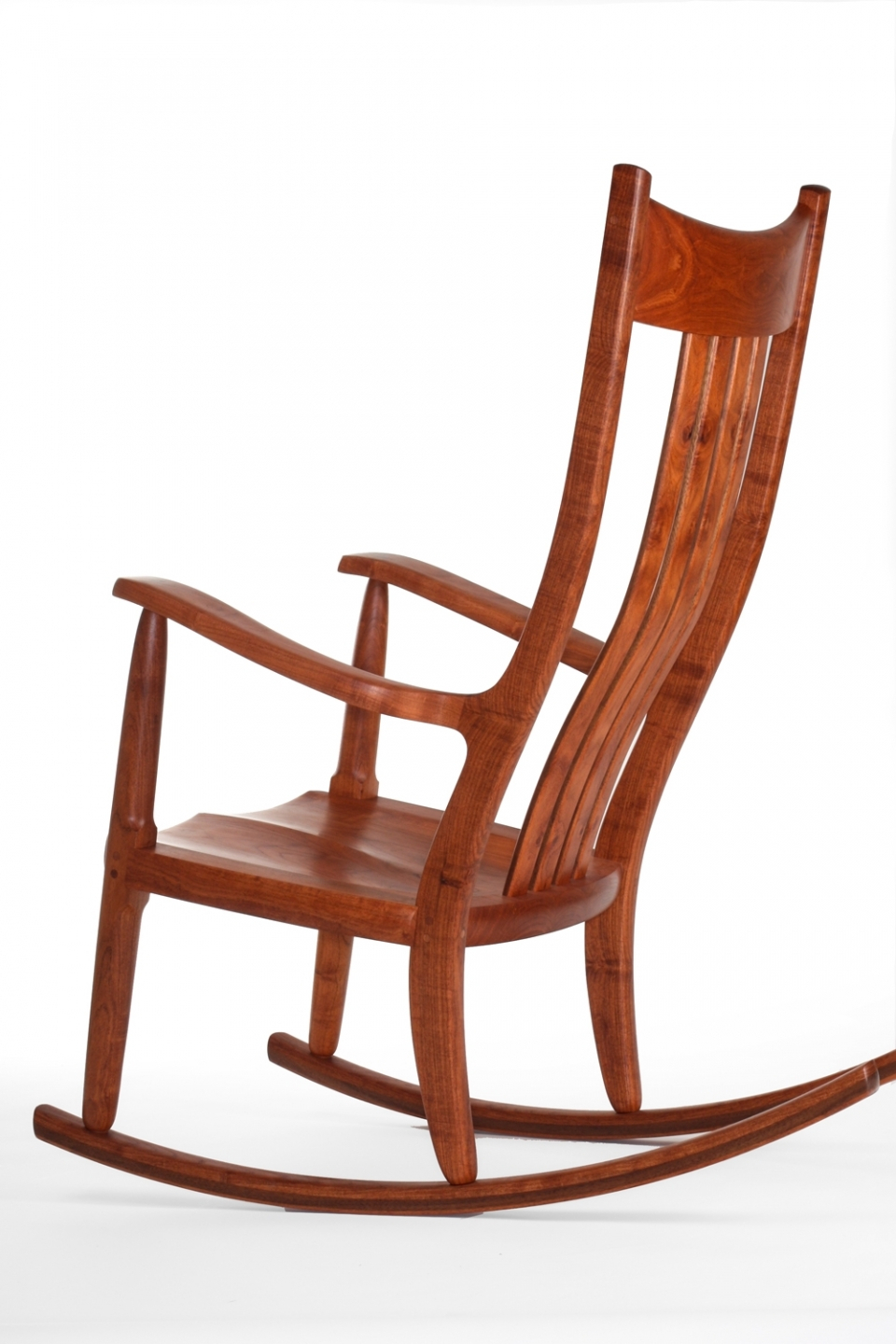 Inspiration about Directory Of Handmade Rocking Chair Makers | Gary Weeks And Within Dark Walnut Brown Wooden Rocking Chairs (#10 of 20)
