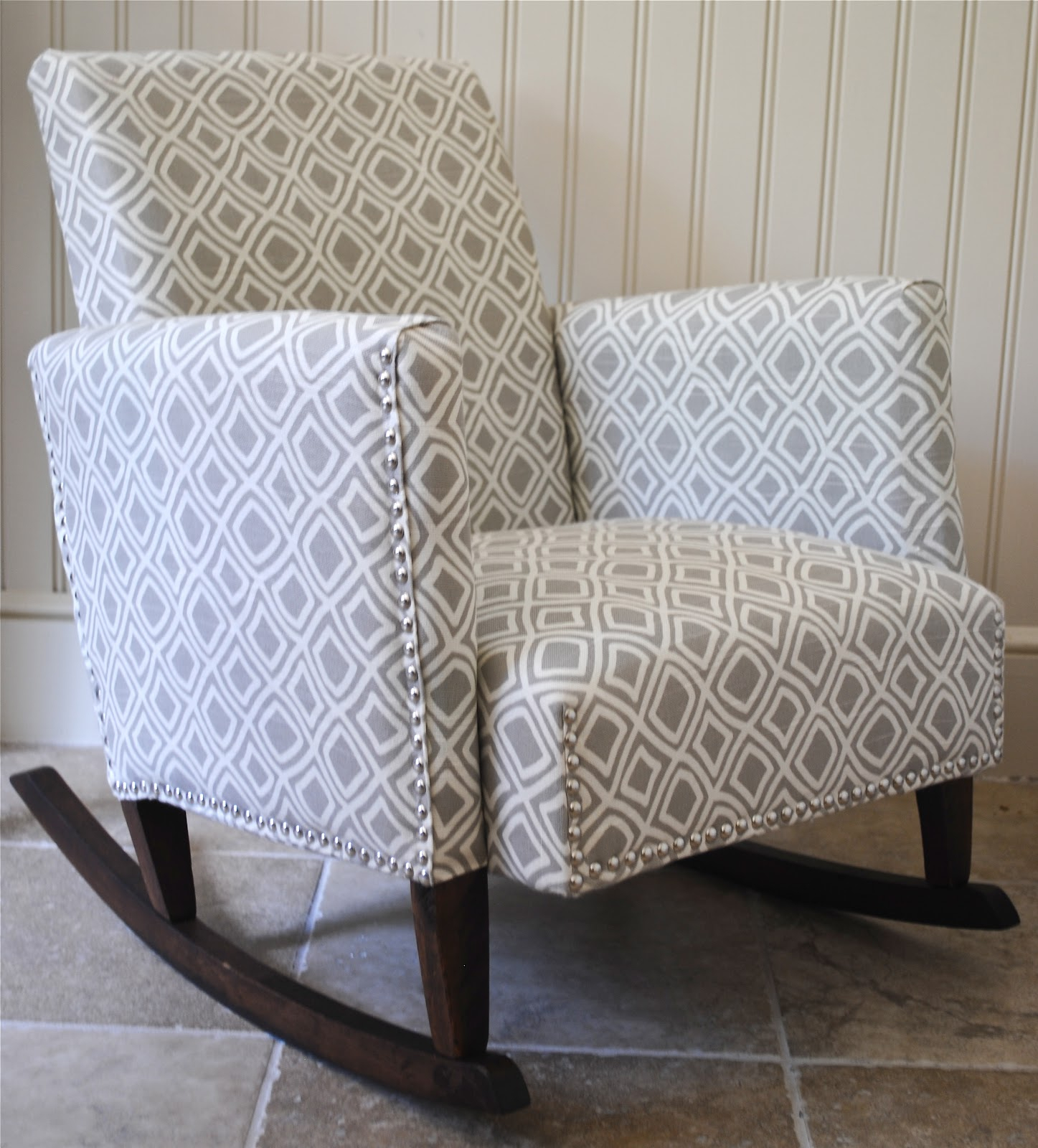 Inspiration about Diy}Ish Upholstered Child's Rocking Chair – The Chronicles With Regard To Padded Rocking Chairs (#18 of 20)