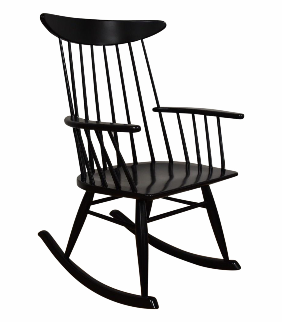 Inspiration about Drawing Chairs Rocking Chair – Vintage Windsor Fan Back Within Black Back Windsor Rocking Chairs (#8 of 20)