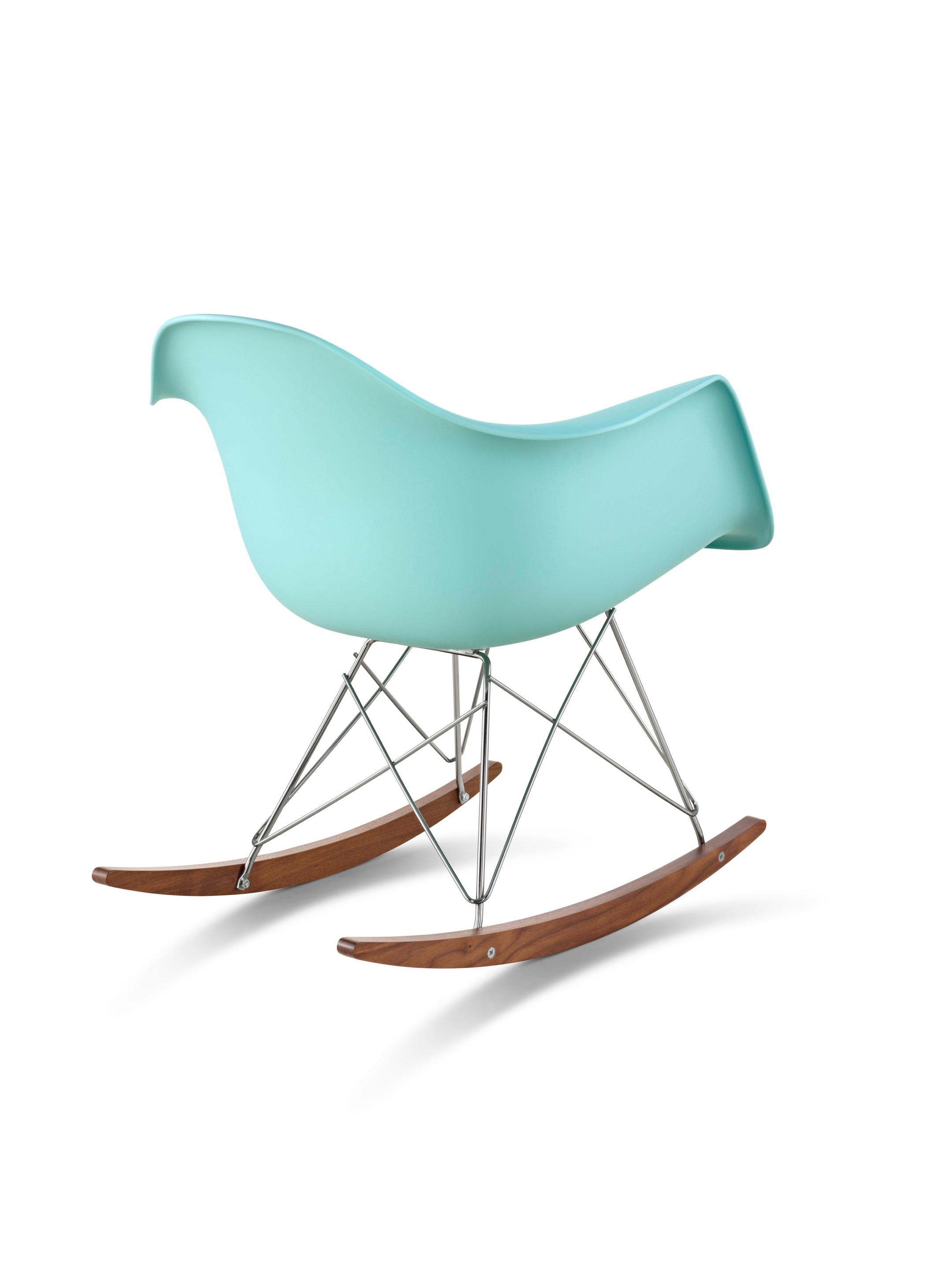 Eames Molded Plastic Armchair Rocker Base – Herman Miller Within Plastic Arm Chairs With Rocking Legs (View 8 of 20)