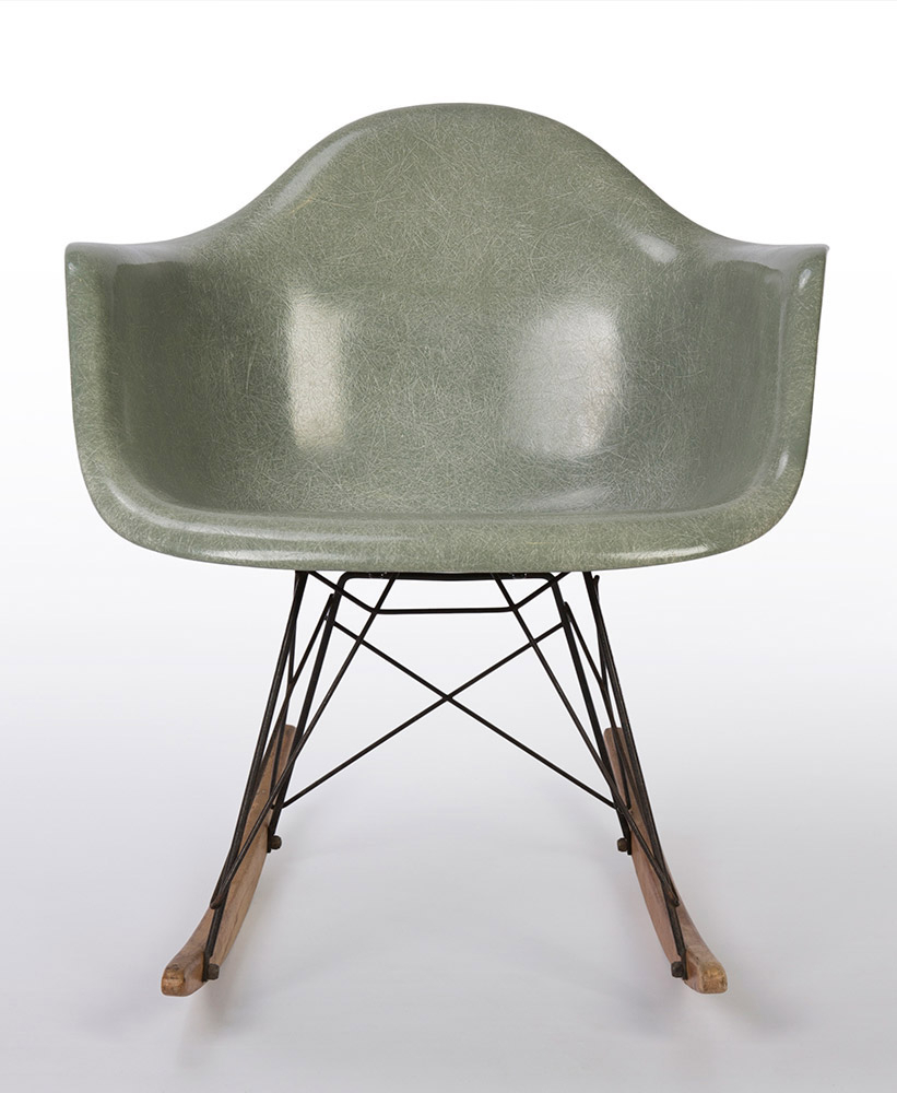 Eames Rar Chair, Eames Rar Rocking Chair – Eames Intended For Plastic Arm Chairs With Rocking Legs (View 20 of 20)