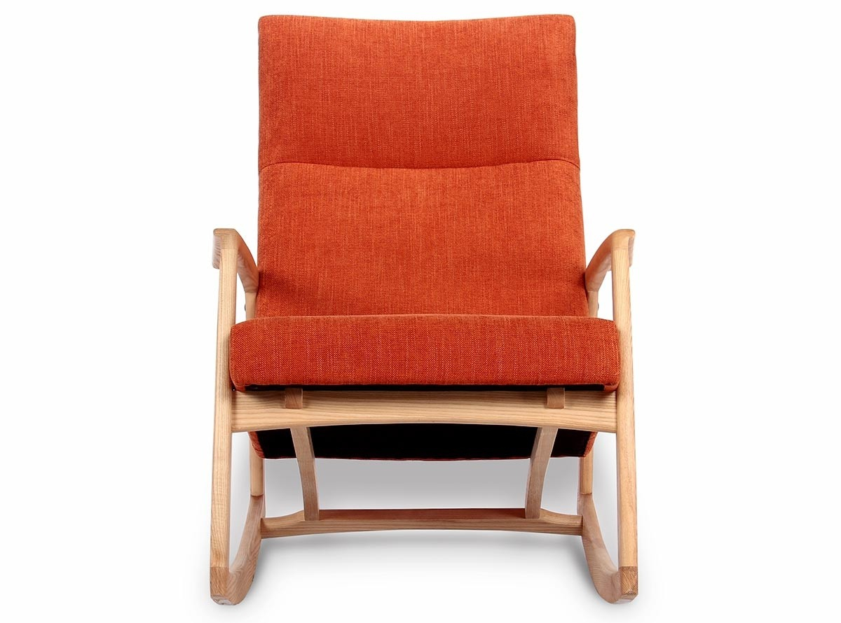 Edvard Danish Rocking Chair With Regard To Liverpool Classic Style Rocking Chairs In Antique Oak Finish (#12 of 20)