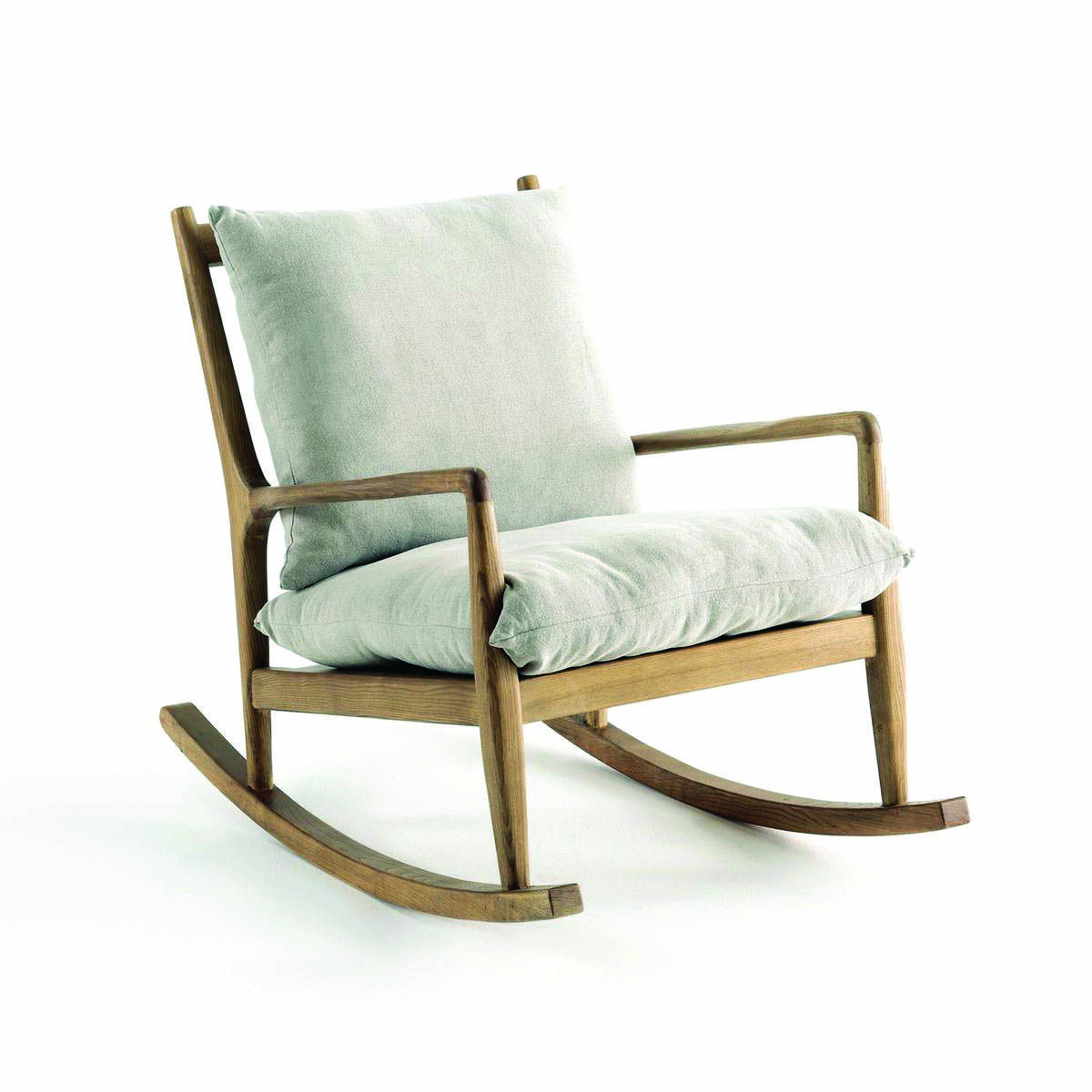 Fascinating Rocking Chair Footstool Made Easy   The Sofa And For Harvey Mid Century Modern Fabric Rocking Chairs (View 12 of 20)