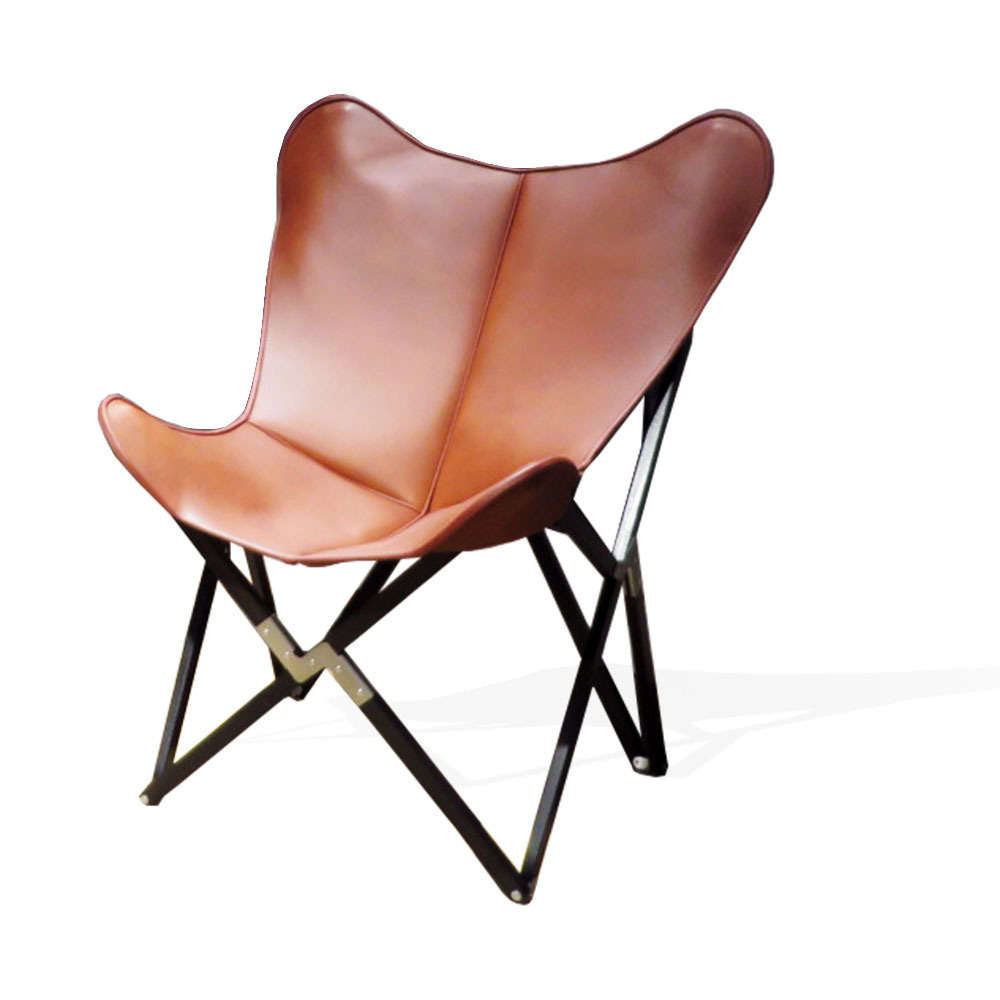 Fenby Tripolina Chair Grand Comfort Leather Tobacco Brown With Regard To Tobacco Brown Wooden Rocking Chairs (#6 of 20)