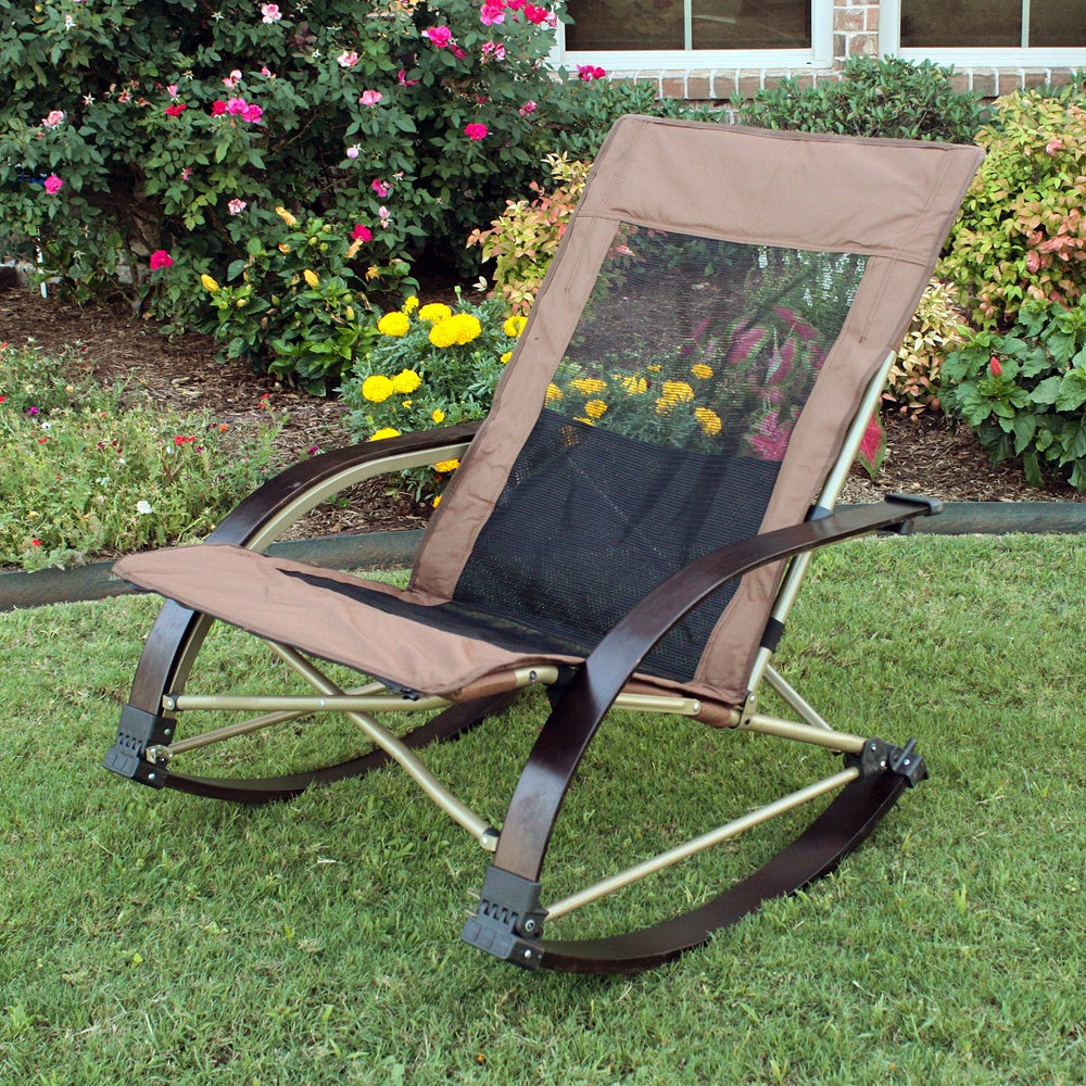 Folding Bentwood Rocking Chair With Extendable Footrest And Removable Cover Intended For Folding Bentwood Rocking Chairs With Extendable Footrest And Removable Cover (#12 of 20)