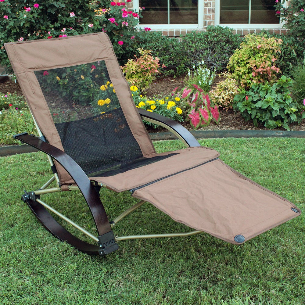 Folding Bentwood Rocking Chair With Extendable Footrest And Removable Cover Pertaining To Folding Bentwood Rocking Chairs With Extendable Footrest And Removable Cover (#13 of 20)
