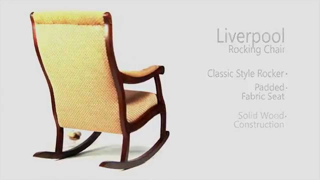 Furniture Of America: Liverpool (Cm Ac6408) Within Liverpool Classic Style Rocking Chairs In Antique Oak Finish (#13 of 20)