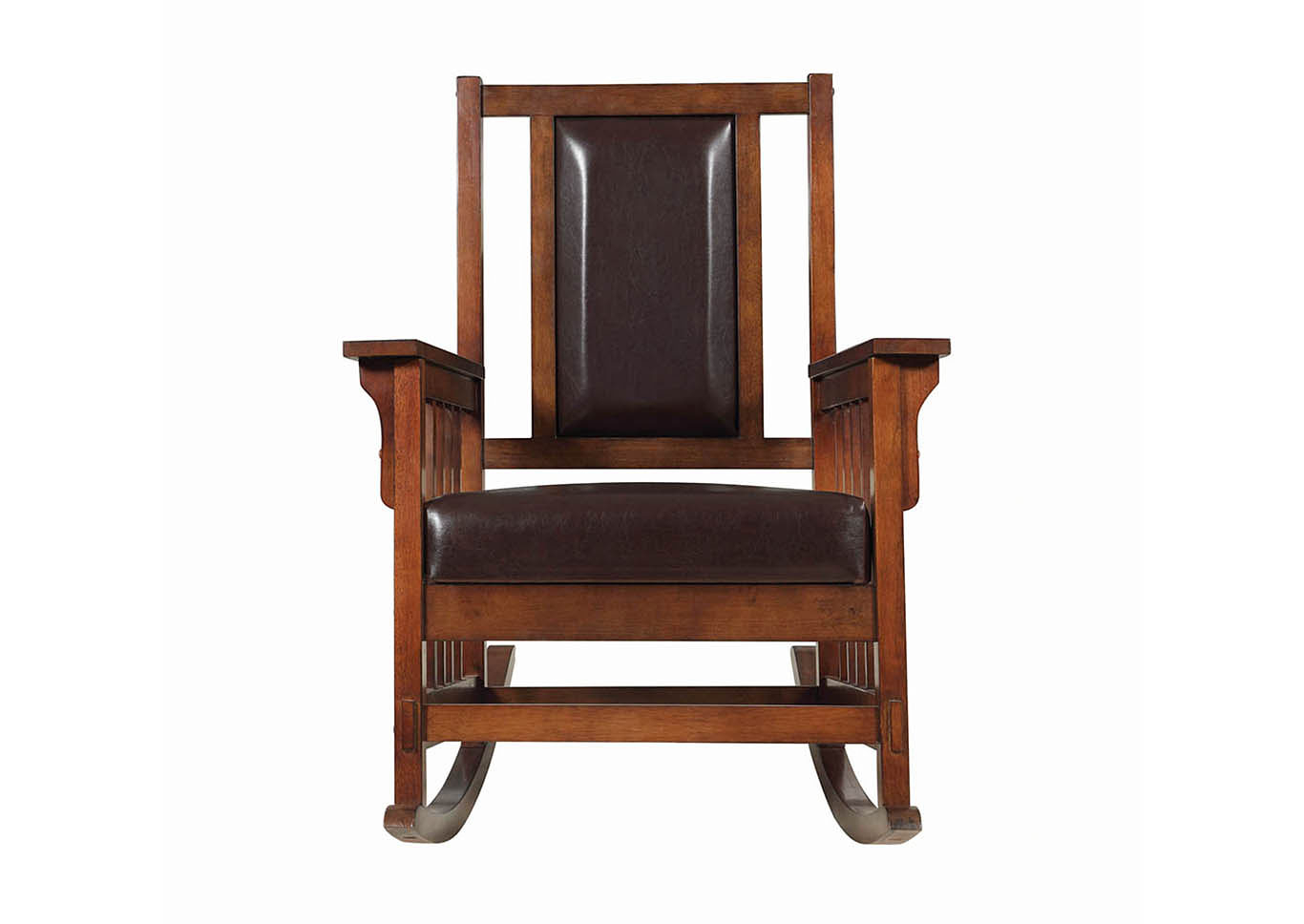 Harlem Furniture Tobacco Rocking Chair Intended For Tobacco Brown Wooden Rocking Chairs (#8 of 20)