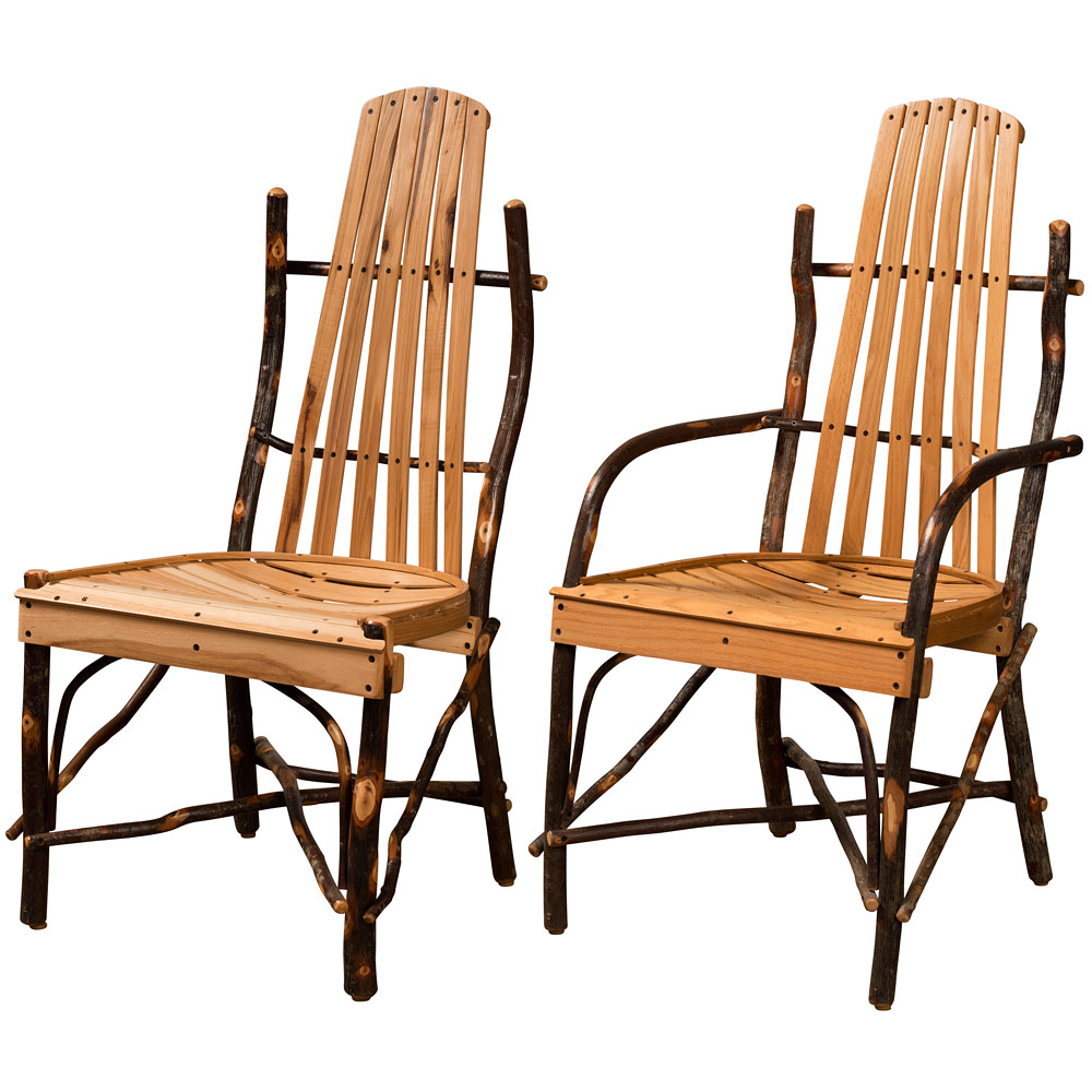 Hickory Bentwood Amish Dining Chairs With Dover Bentwood Rocking Chairs (#12 of 20)