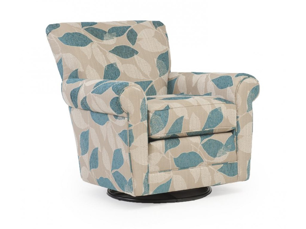 Hinreisend Swivel Arm Chairs Living Room Accent Furniture For Modern Blue Fabric Rocking Arm Chairs (View 17 of 20)