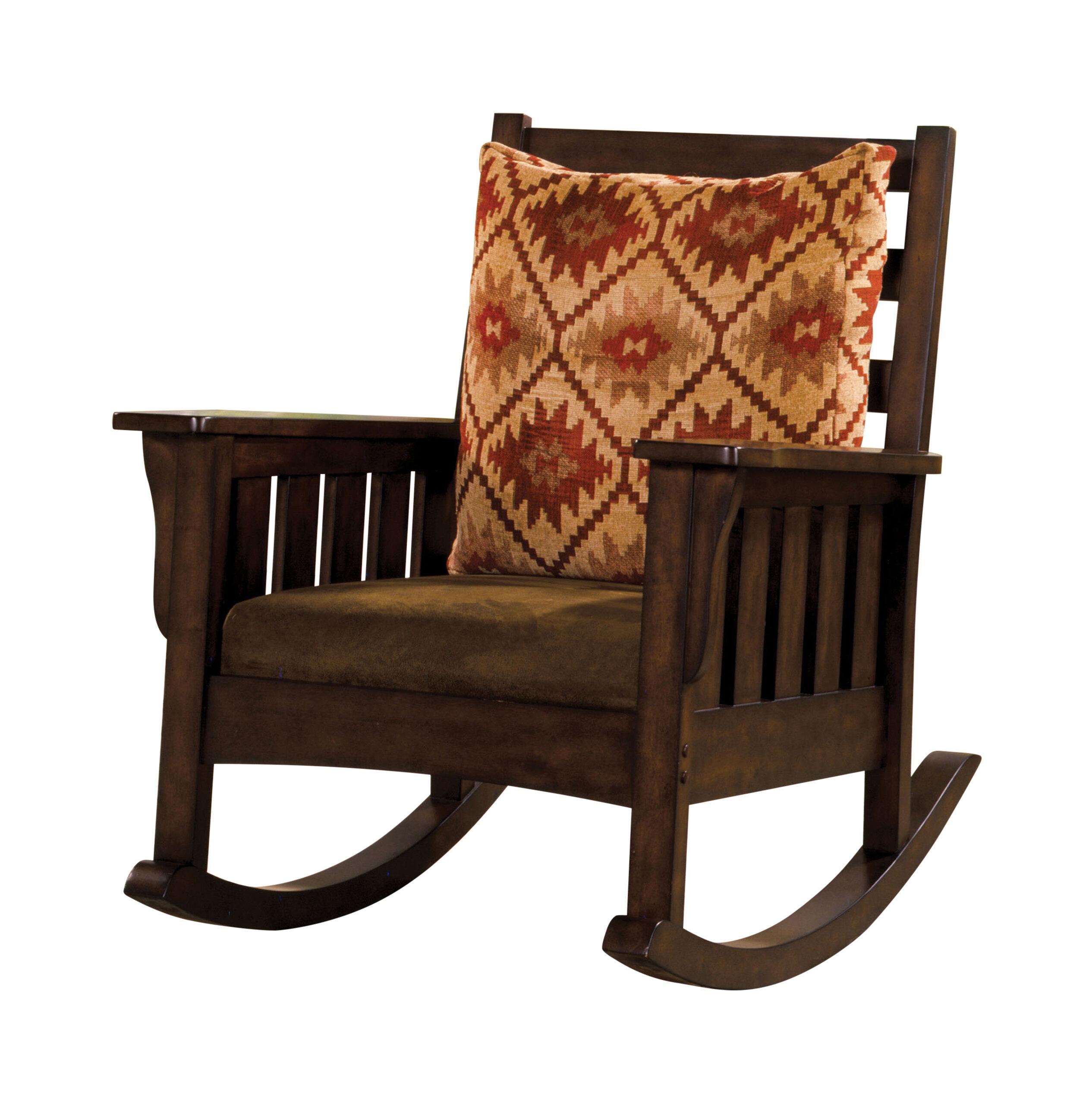 Hokku Designs Maxie Rocking Chair & Reviews | Wayfair (View 7 of 20)