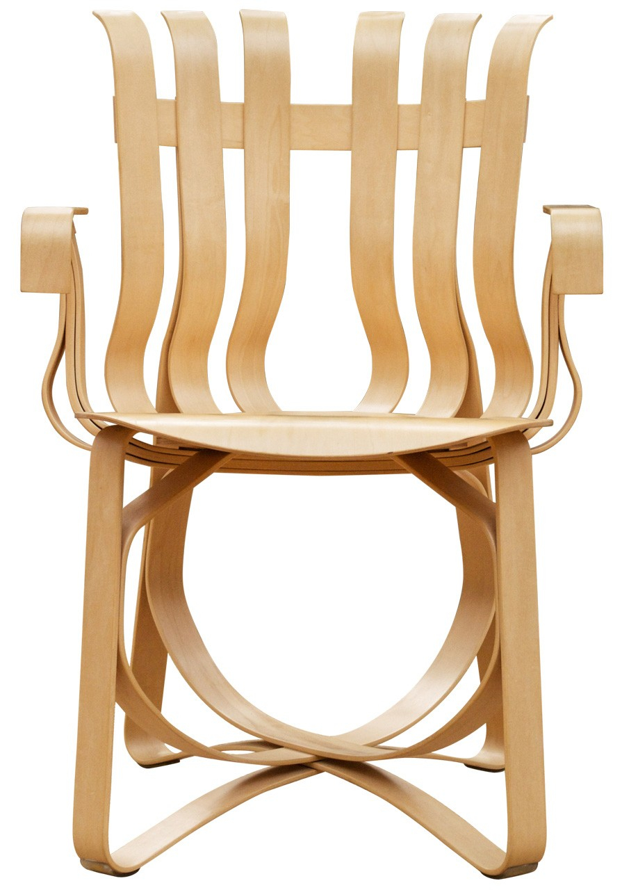Knoll Frank Gehry – Hat Trick Arm Chair In Dover Bentwood Rocking Chairs (#13 of 20)