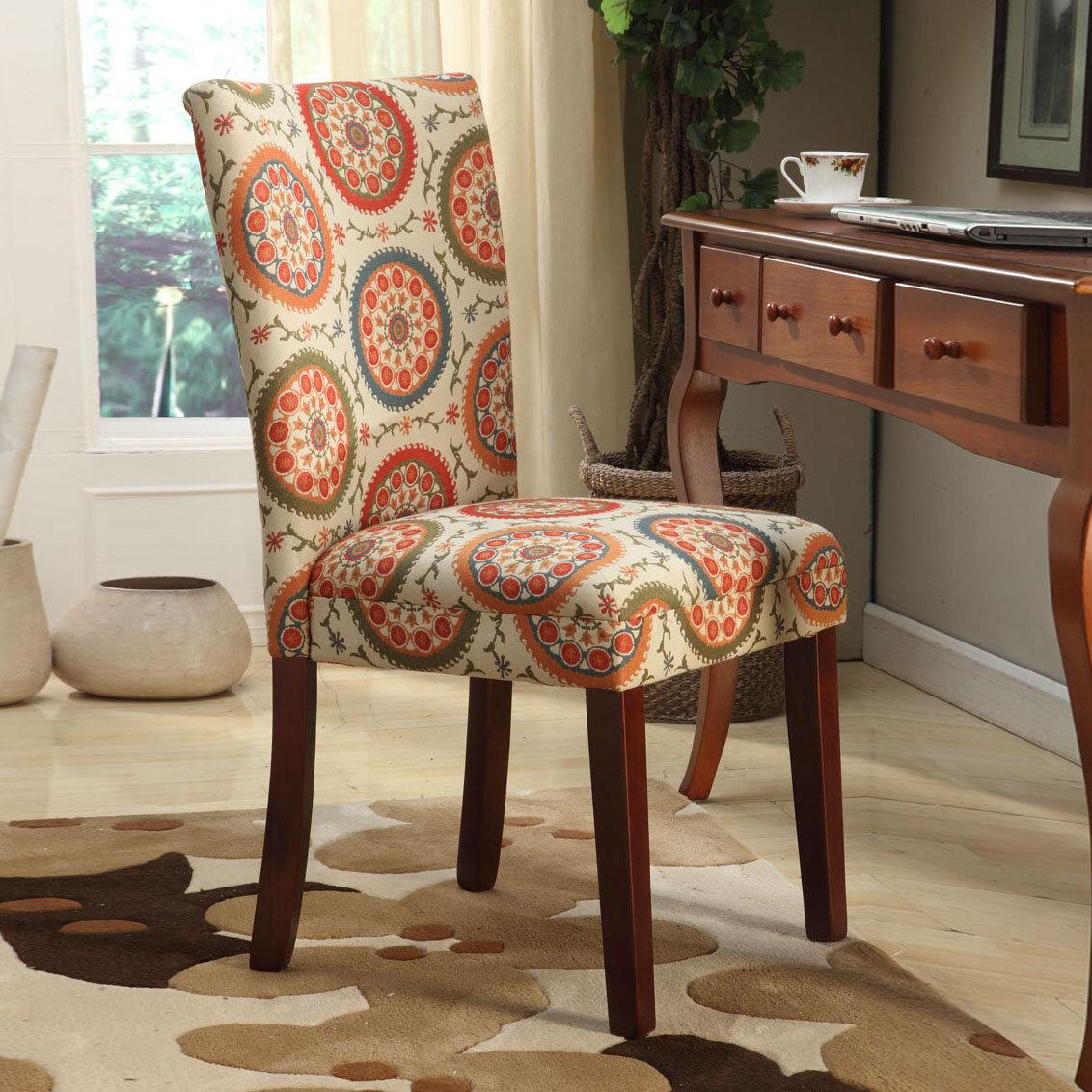 Lattice Back Side Chair | Wayfair Regarding Carbon Loft Ariel Rocking Chairs In Espresso Pu And Walnut (View 7 of 20)