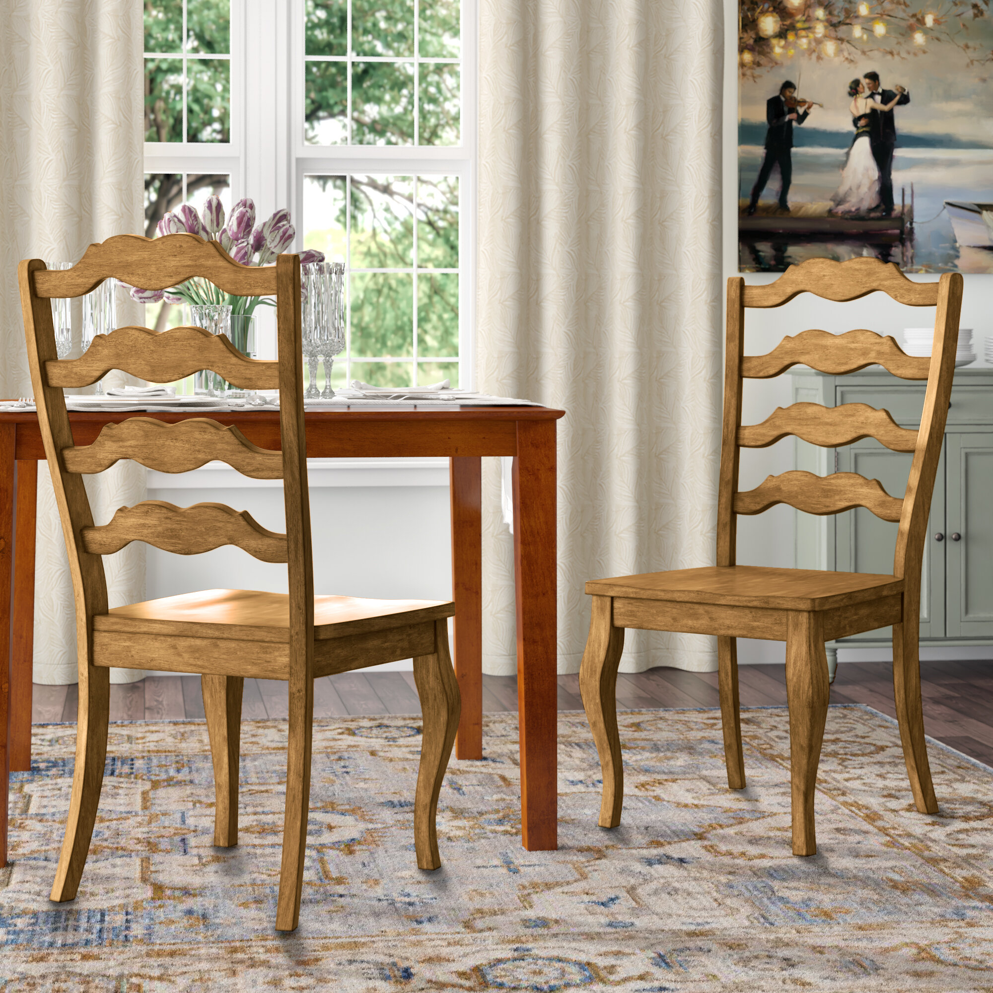 Mayfair Side Chair | Wayfair With Regard To Carbon Loft Ariel Rocking Chairs In Espresso Pu And Walnut (View 13 of 20)